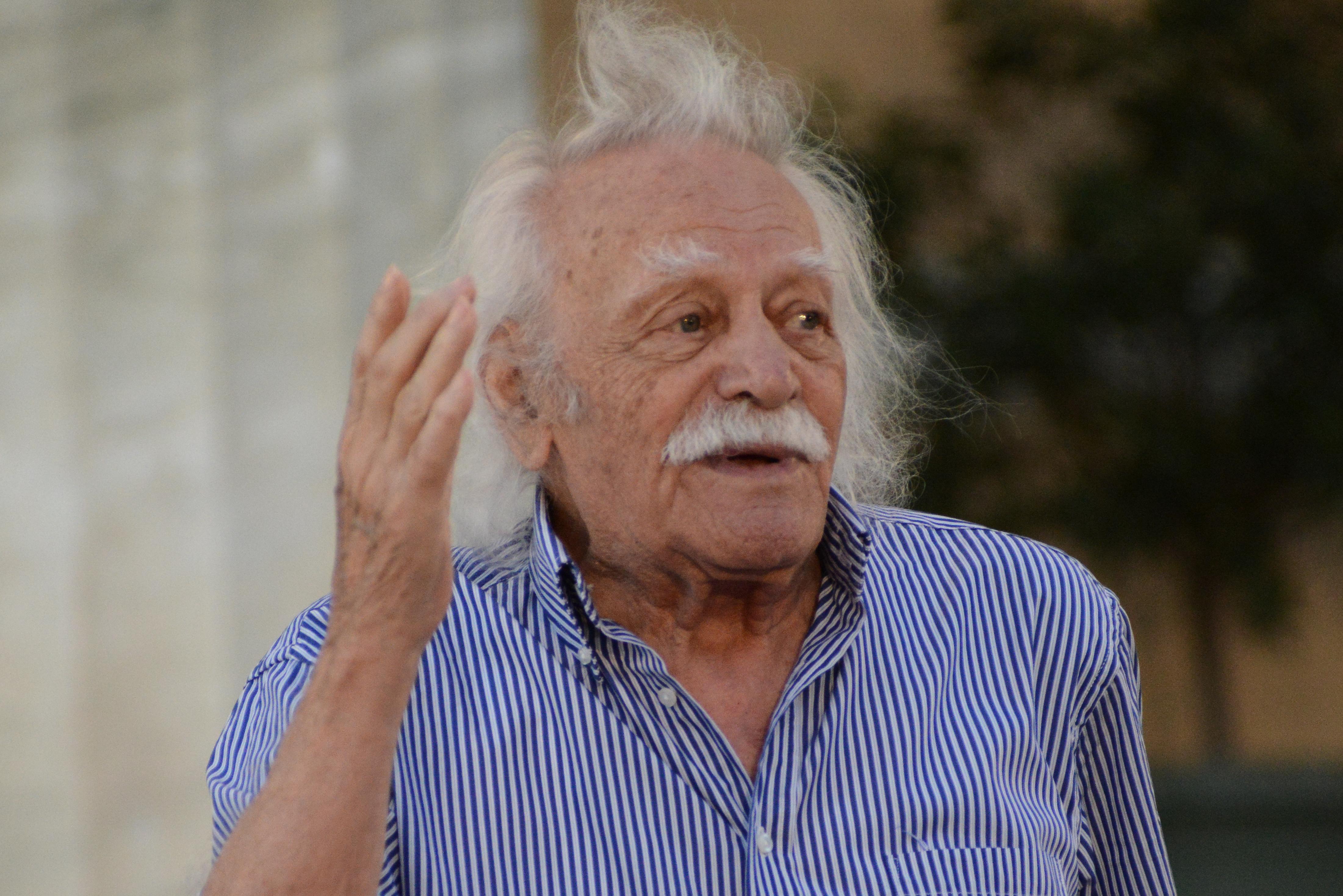97 évesen meghalt a görög ellenállás legismertebb alakja, Manolis Glezos