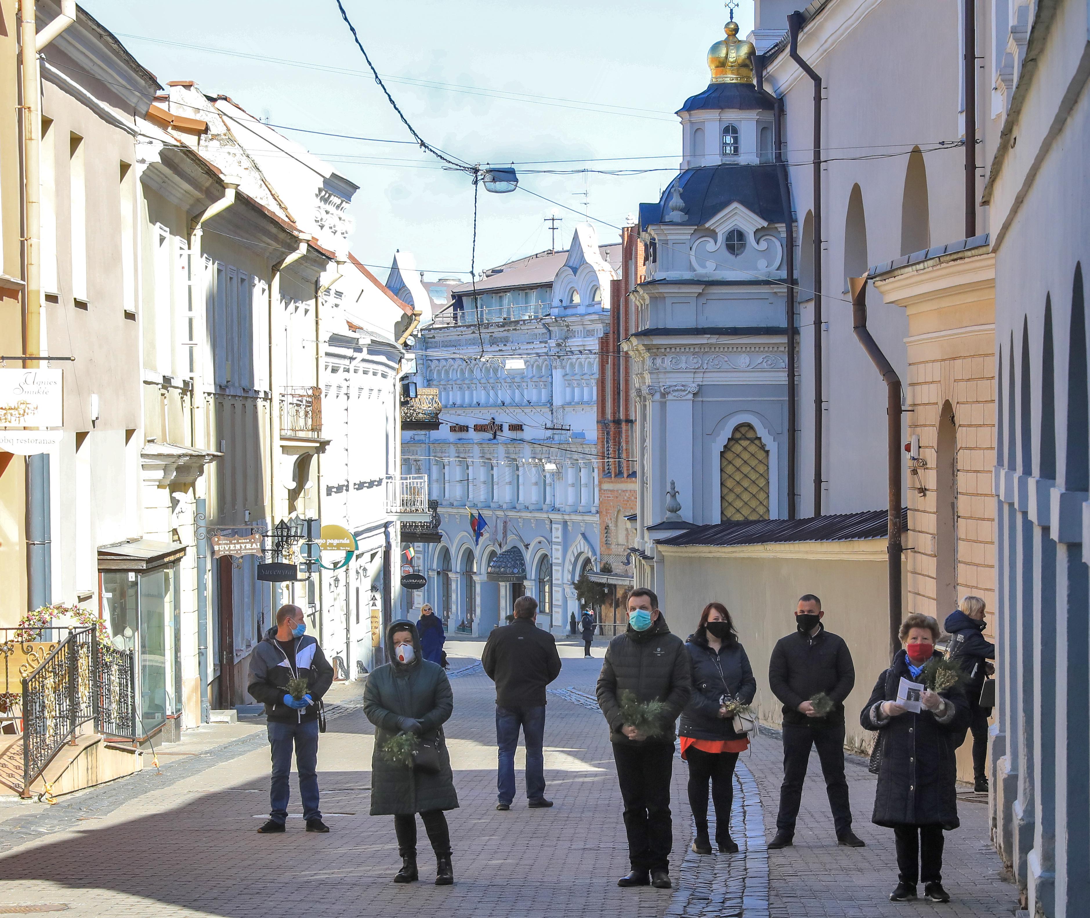Litvánia fővárosát egy nagy, szabadtéri kávézóvá változtatnák