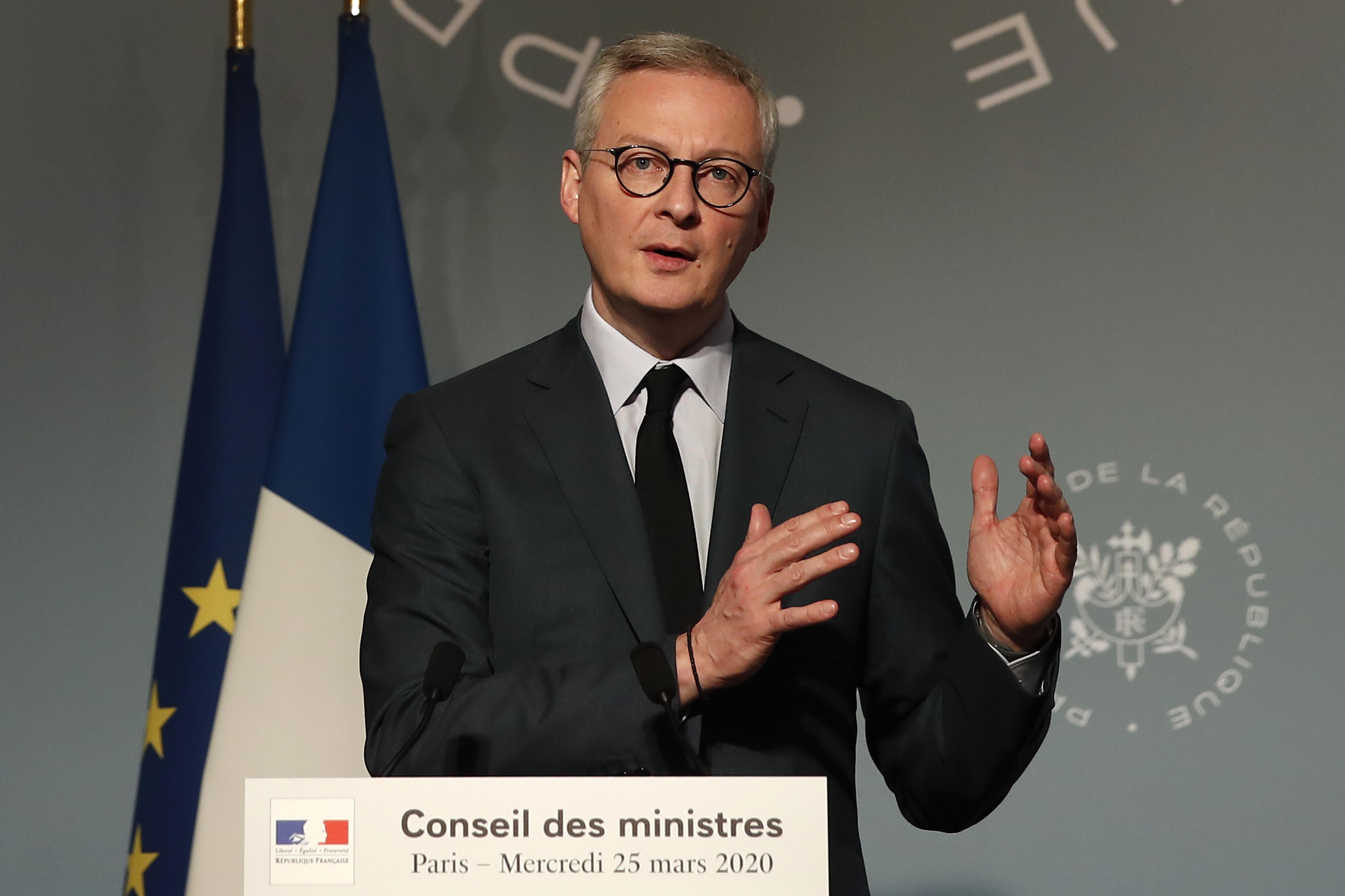 A második világháború óta nem látott gazdasági visszaeséssel számol a francia pénzügyminiszter