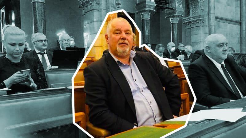 """Fideszes képviselő """"a szivárványosság és a keresztény hit különbségéről"""" beszélt Ungár Péternek a Parlamentben"""