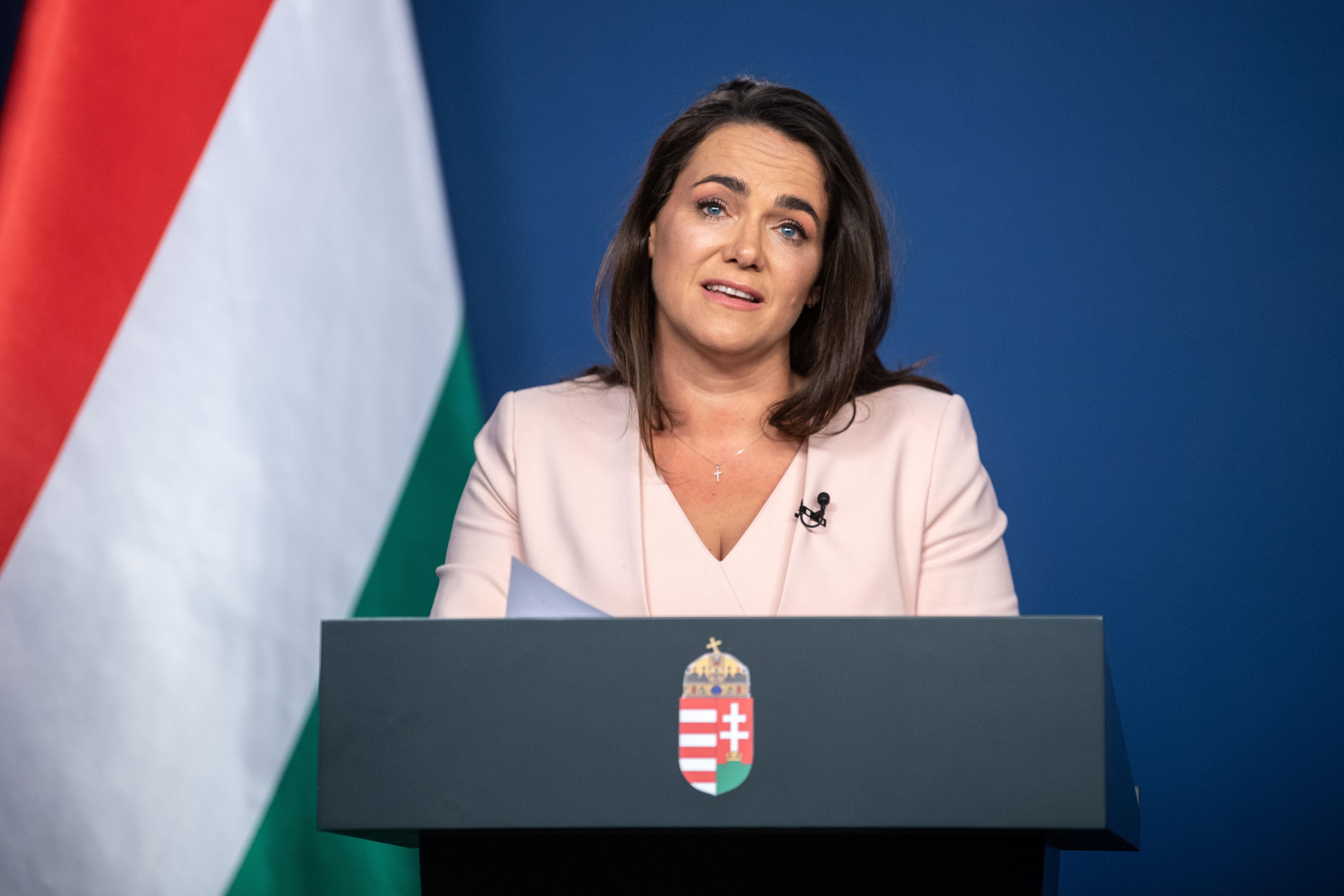 Novák Katalin: Attól még, hogy a Fidesz az AfD-vel ül egy frakcióban az Európa Tanácsban, nincs velük kapcsolatuk