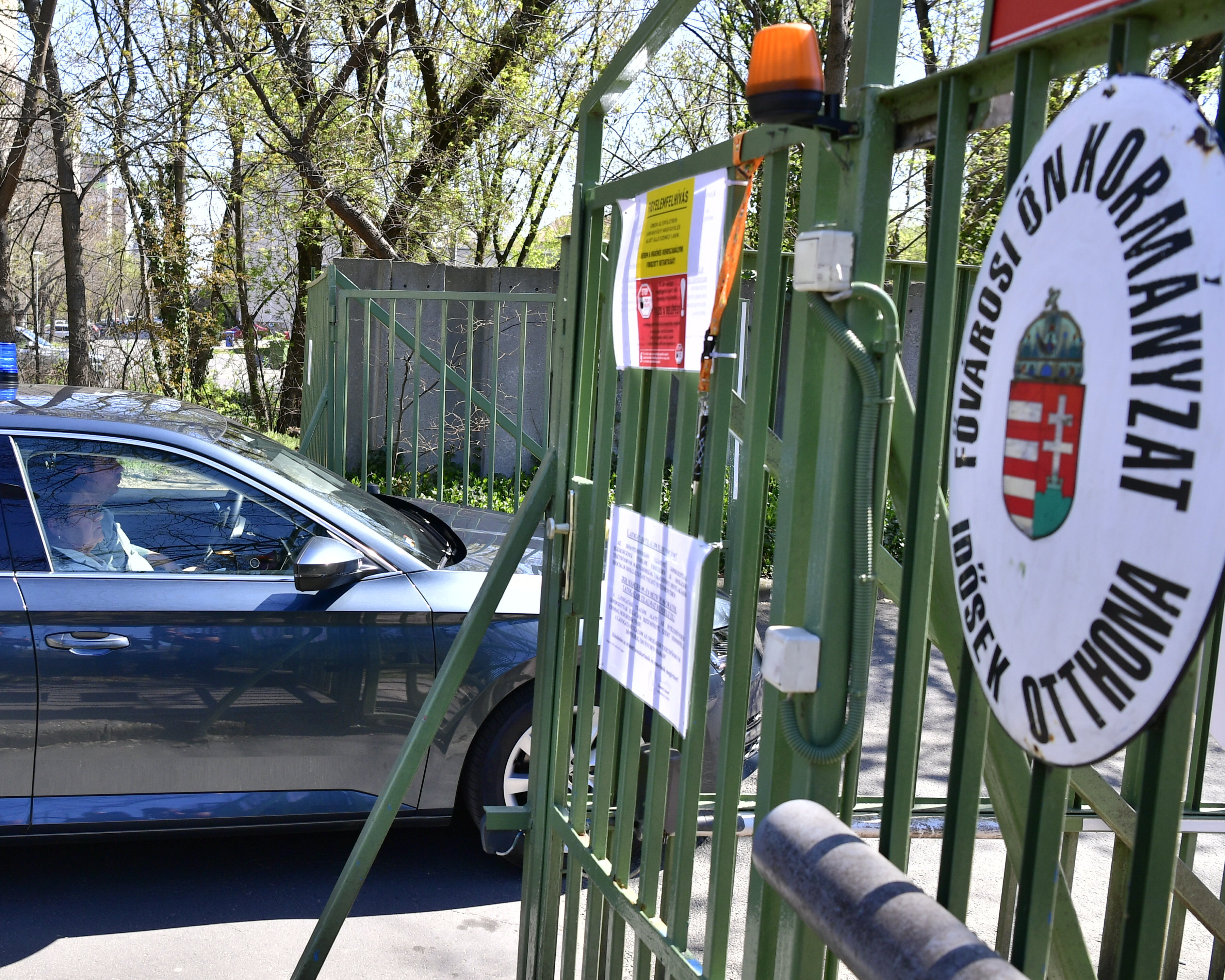 Látogatási és kijárási tilalmat rendelt el a főváros a Pesti úti idősotthonban