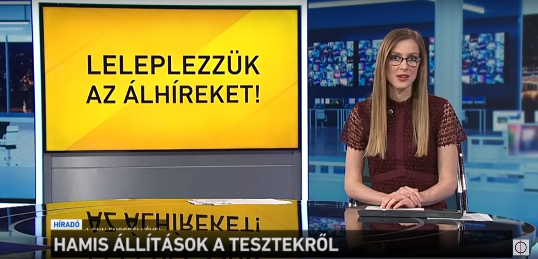 Lecsap az állami tévé azokra, akik széles körű koronavírus-tesztelést javasolnak