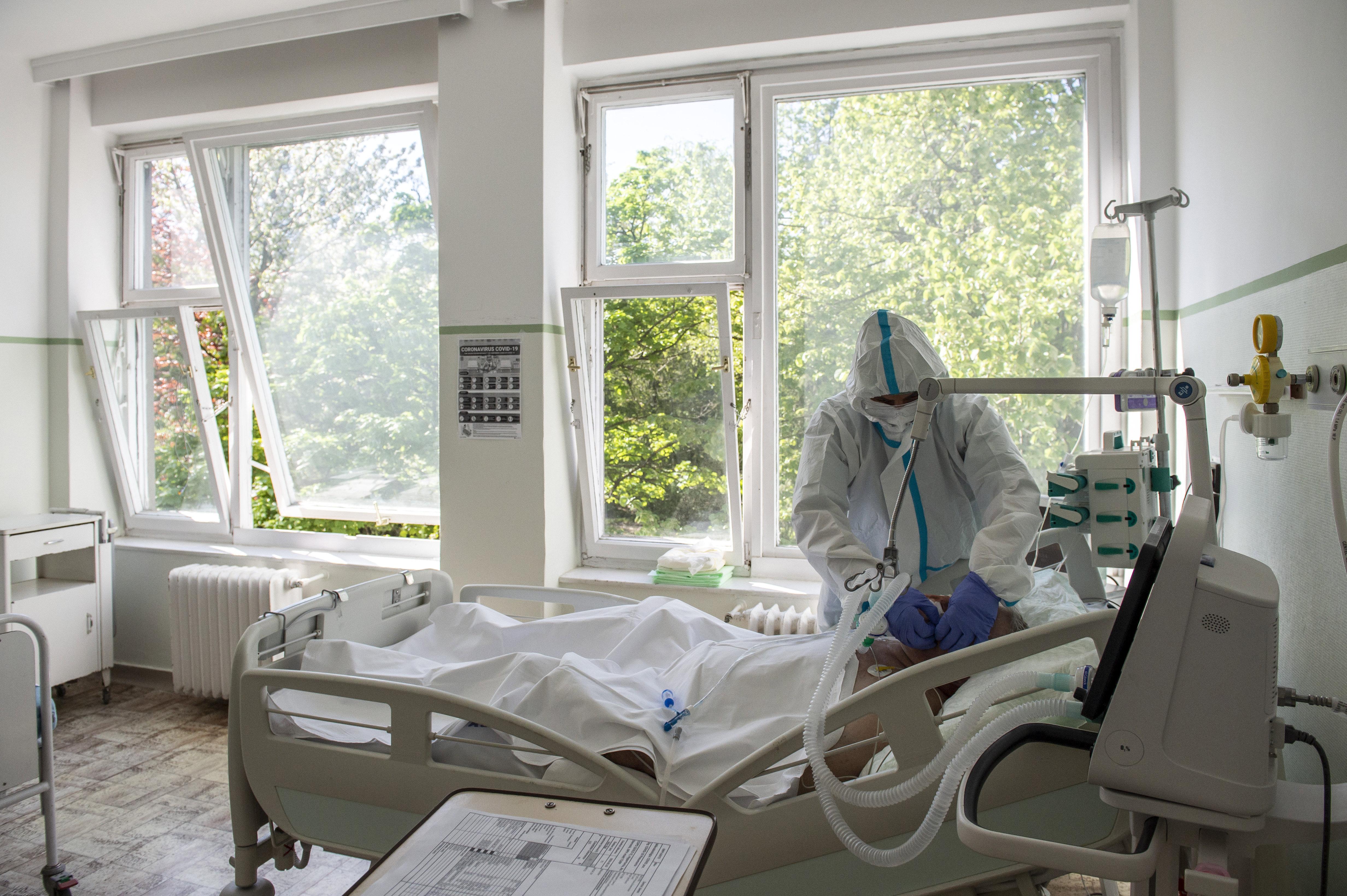 Áramszünet volt a szegedi intenzív osztályon, ahol koronás betegeket látnak el