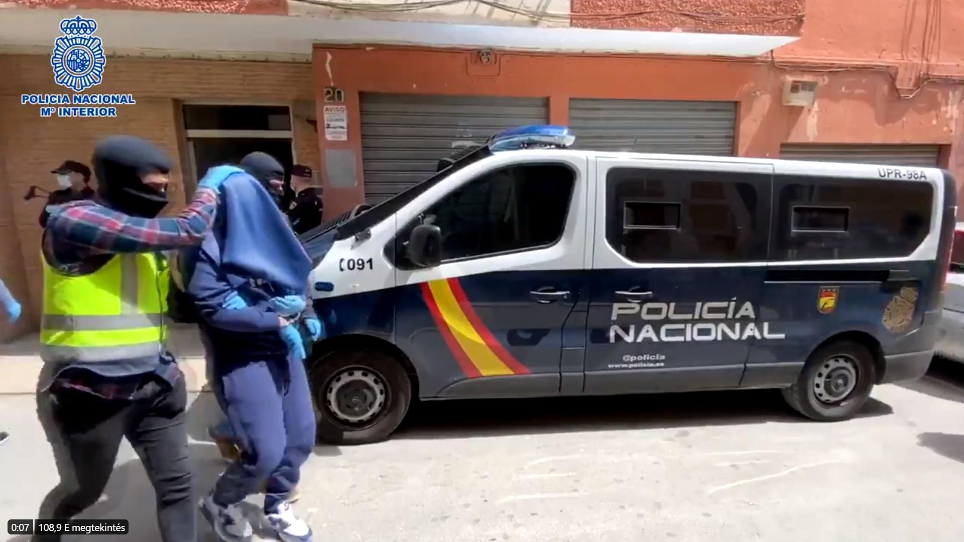 Elfogták az Iszlám Állam egyik legkeresettebb terroristáját Spanyolországban