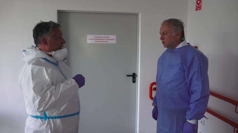 10 nappal a hivatalosan várt tetőzés előtt nem úgy néz ki, hogy szükség lesz a 33 ezer kiürített kórházi ágyra