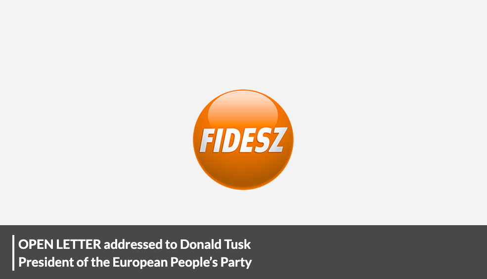 A Fidesz nyílt levélben írta le, hogy igazságtalanul lenácizni valakit szégyenletes dolog