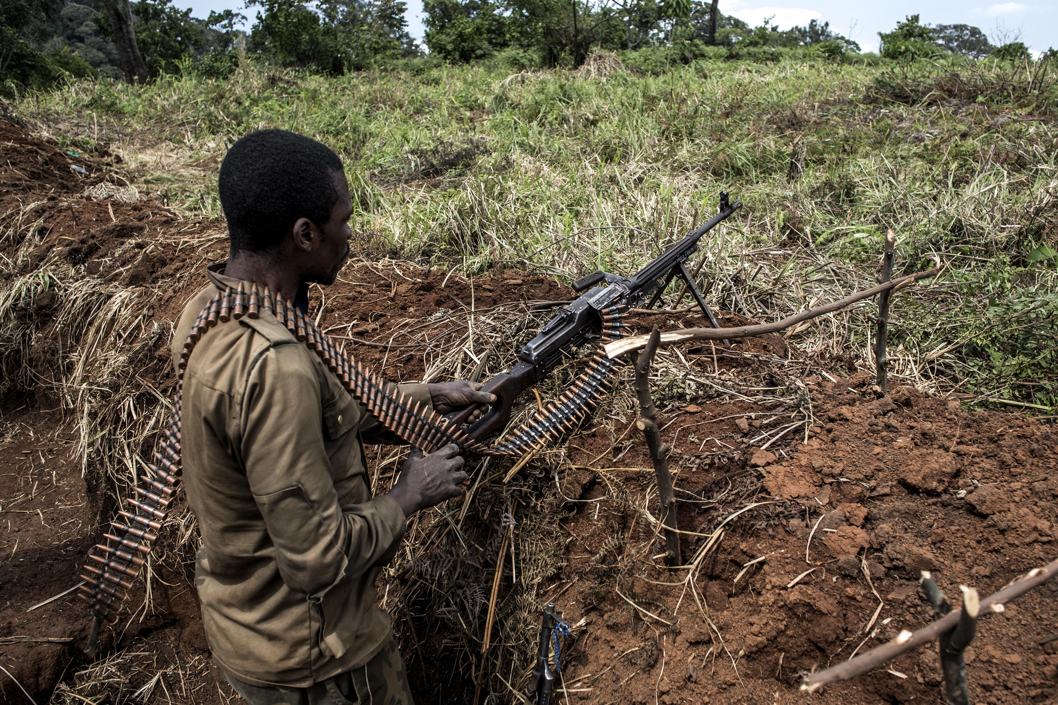 12 vadőrt gyilkoltak meg Kongóban