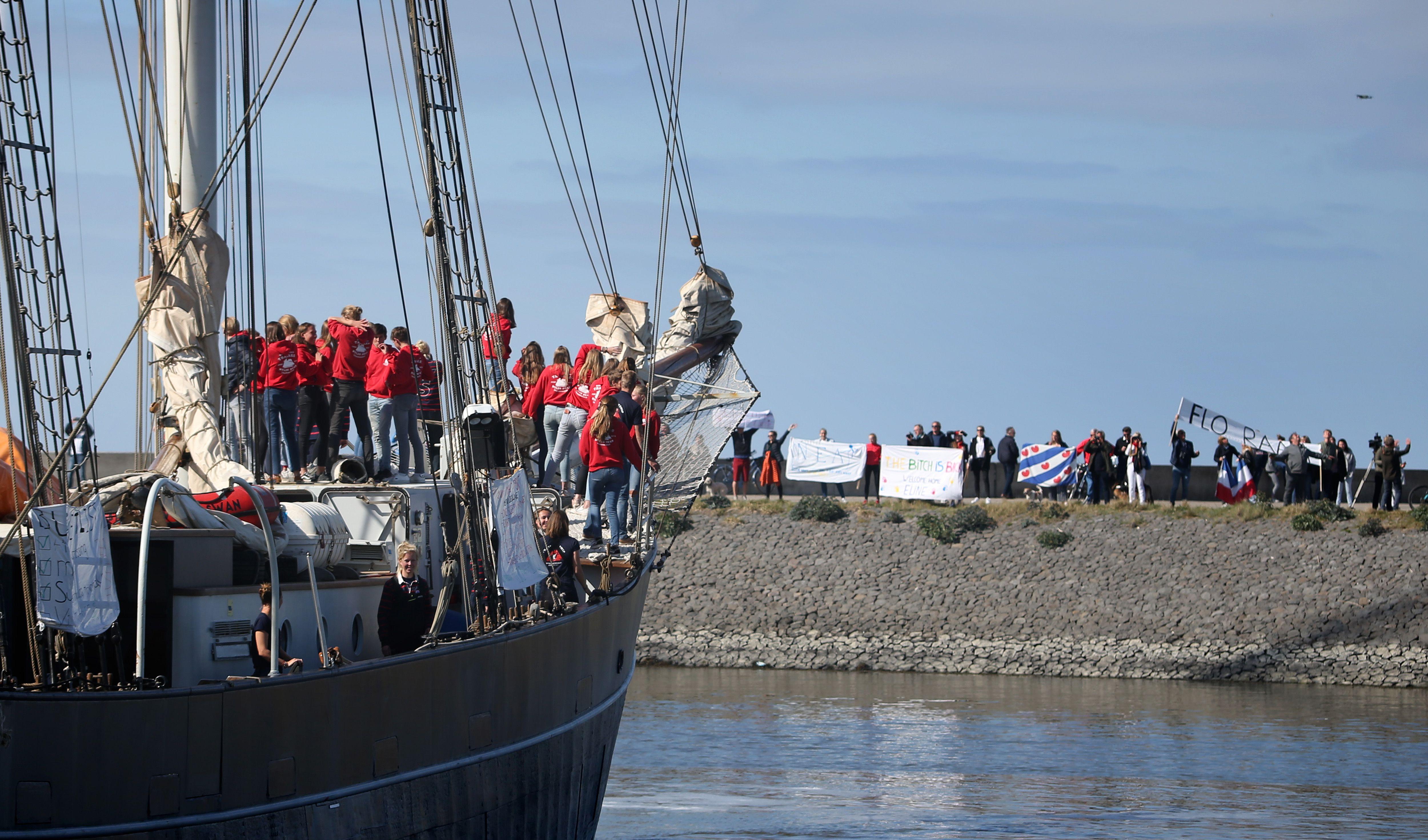 Kubában ragadt volna 25 holland diák, de inkább hazavitorláztak az óceánon át