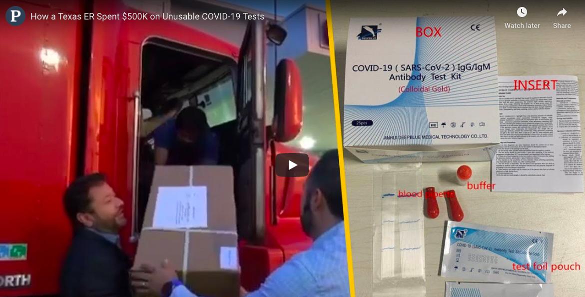 Texasban használhatatlannak találták és kivonták a forgalomból azt a gyorstesztet, amiből a magyar kormány is bevásárolt és aktívan használ