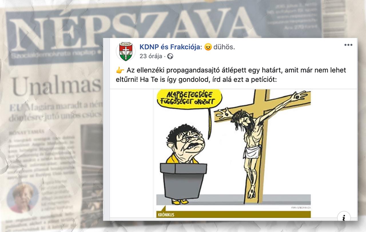 A bíróság elmagyarázta, miért nem jogsértő a Jézussal viccelő karikatúra