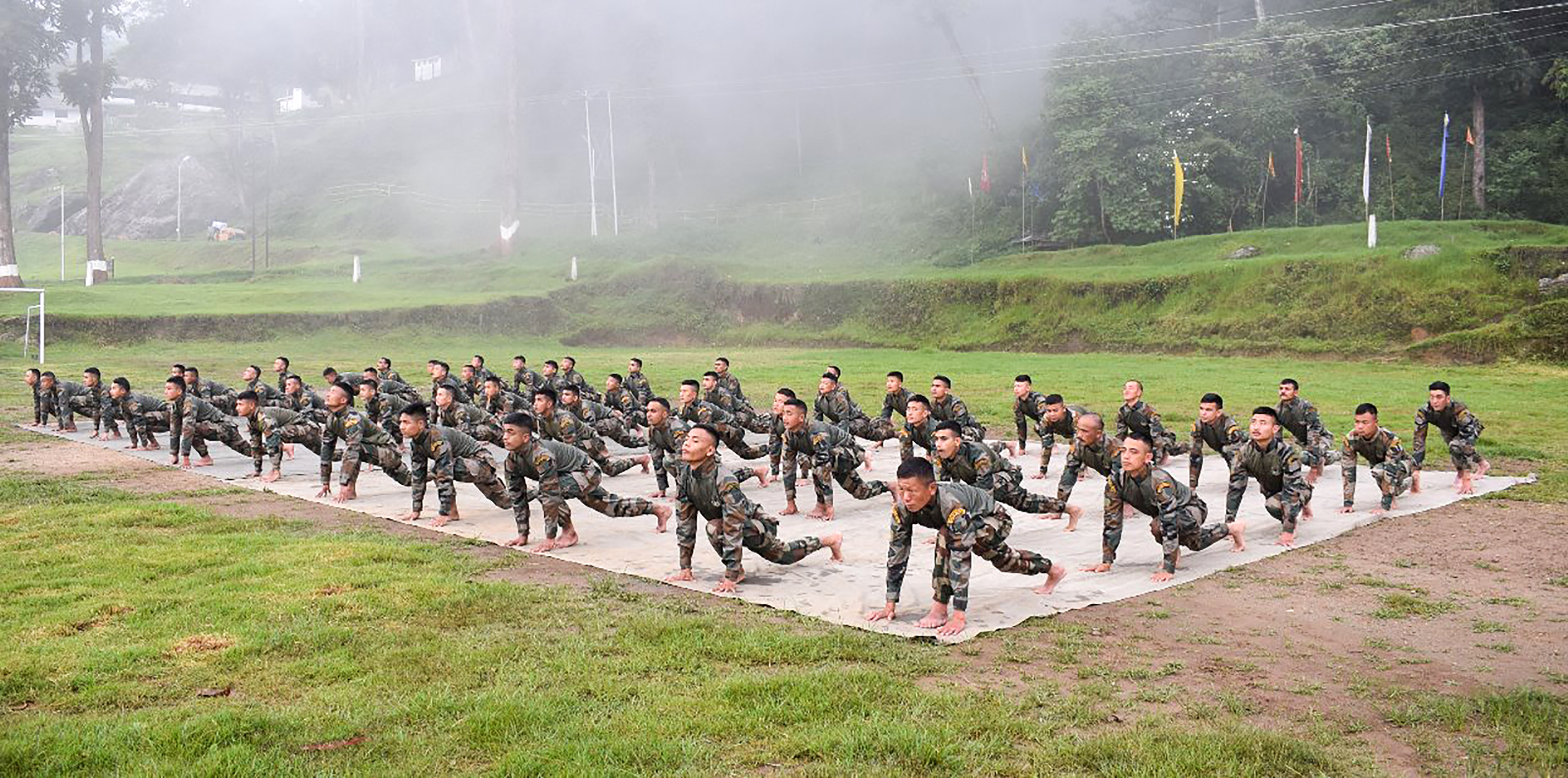 Indiai és kínai katonák estek egymásnak a Himalájában