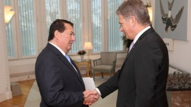 Hitlerhez hasonlította Merkelt, majd lemondott Málta finnországi nagykövete