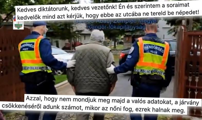 Van egy rémhírünk: Elvittek a rendőrök az otthonából egy embert a véleményéért