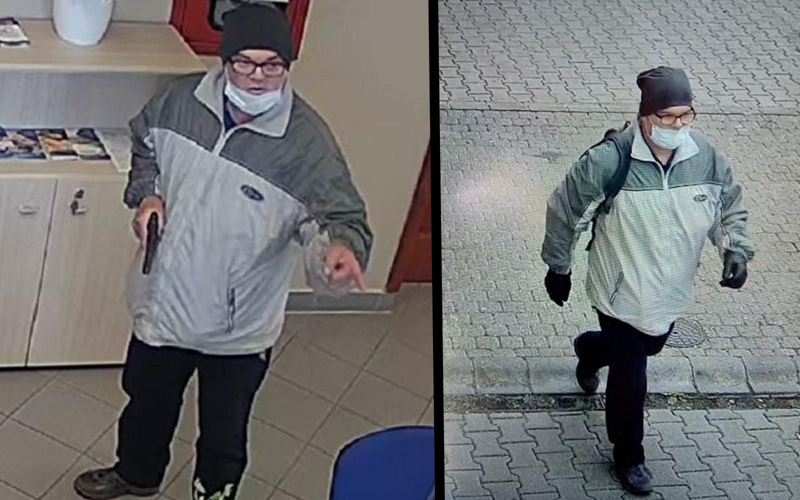 Még mindig keresik a rendőrök a pécsi szájmaszkos bankrablót