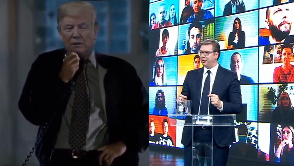 Két elnöki videó mutatta meg a hétvégén: a Black Mirror most tényleg nem tud versenyezni a valósággal