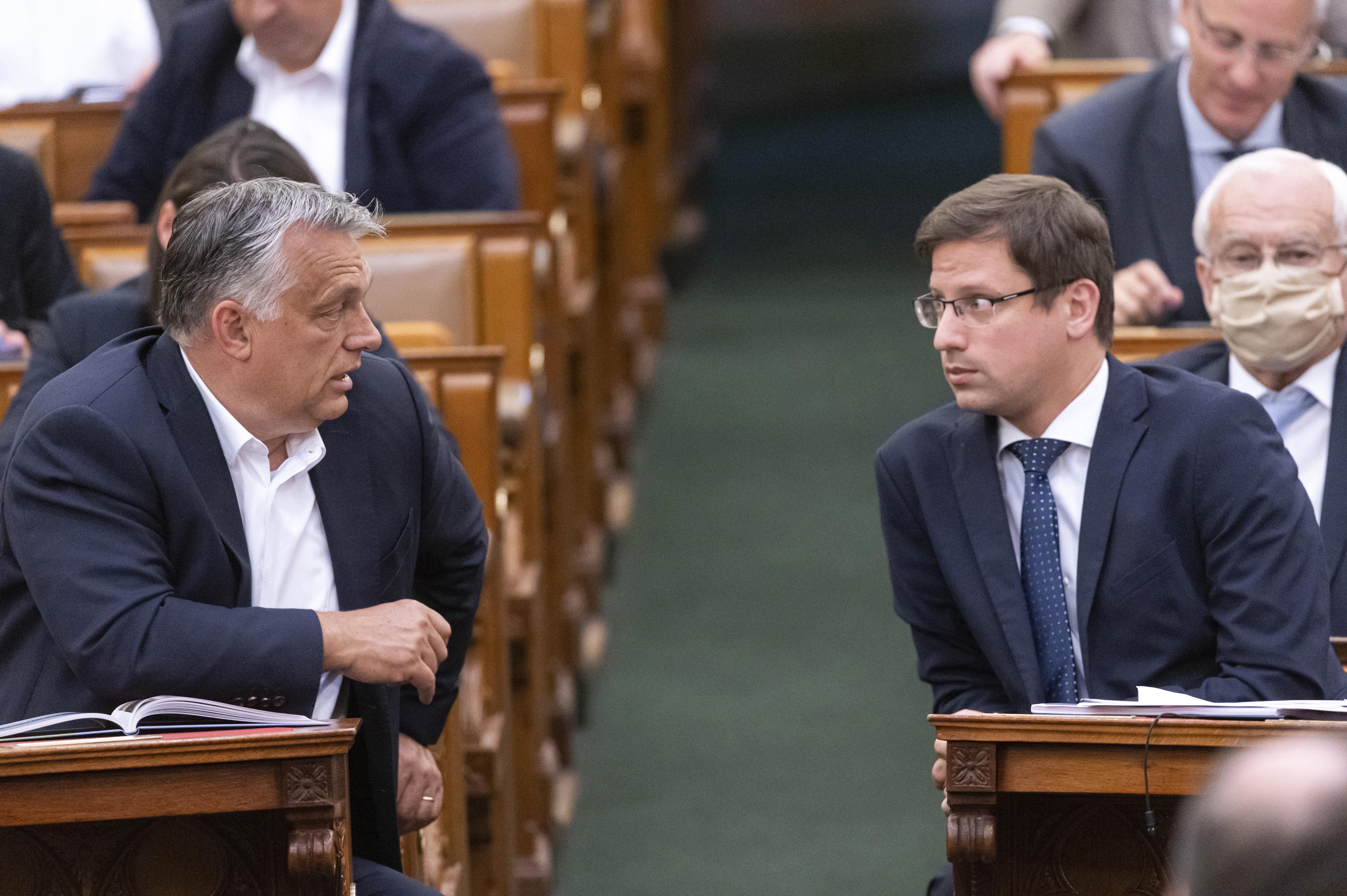 Gulyás Gergely szerint Magyarország a legeredményesebben védekező országok közé tartozik
