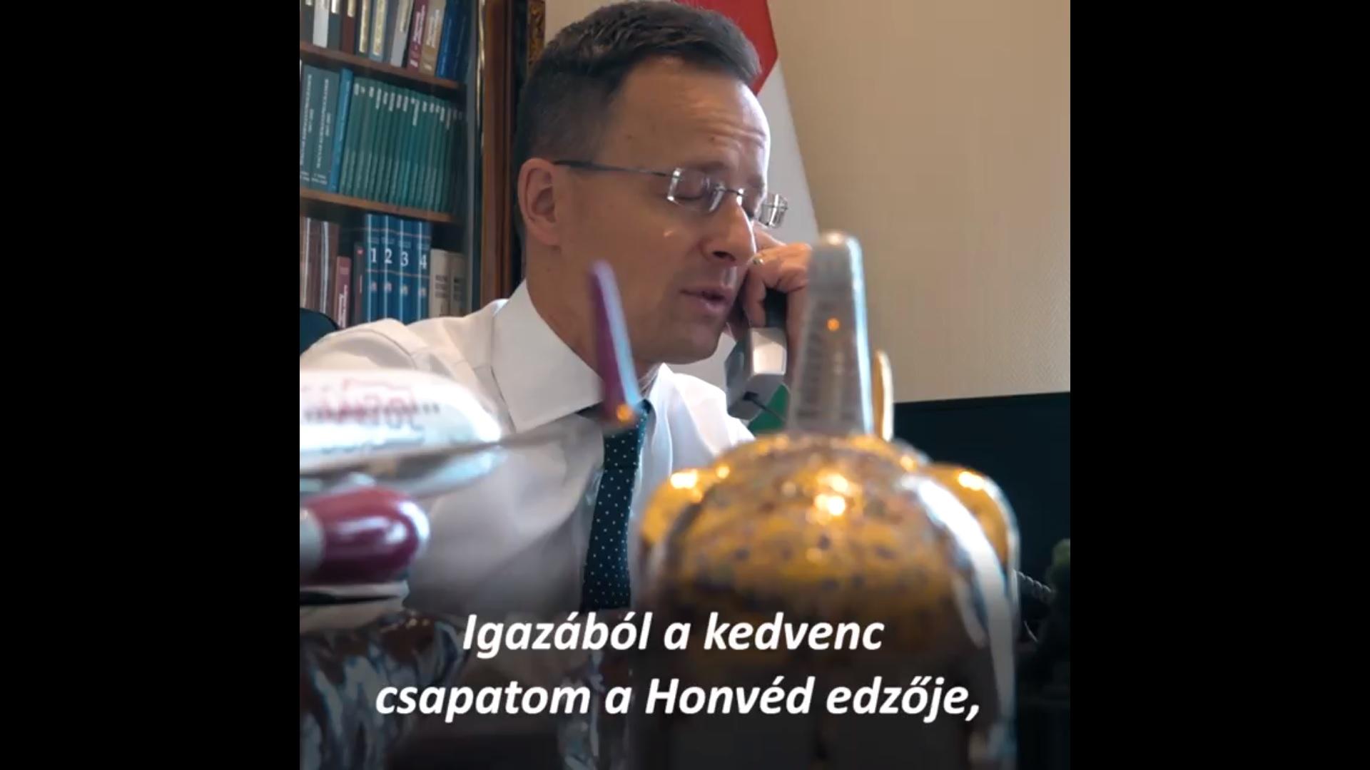 Szijjártó felvette a kapcsolatot az izraeli külügyminiszterrel, hogy a Honvédról és Pisont Istvánról beszélgessenek