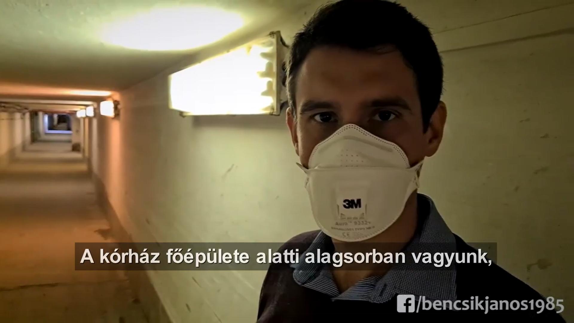Feljelenti Bencsik Jánost a náluk forgatott videó miatt a Jahn Ferenc Kórház