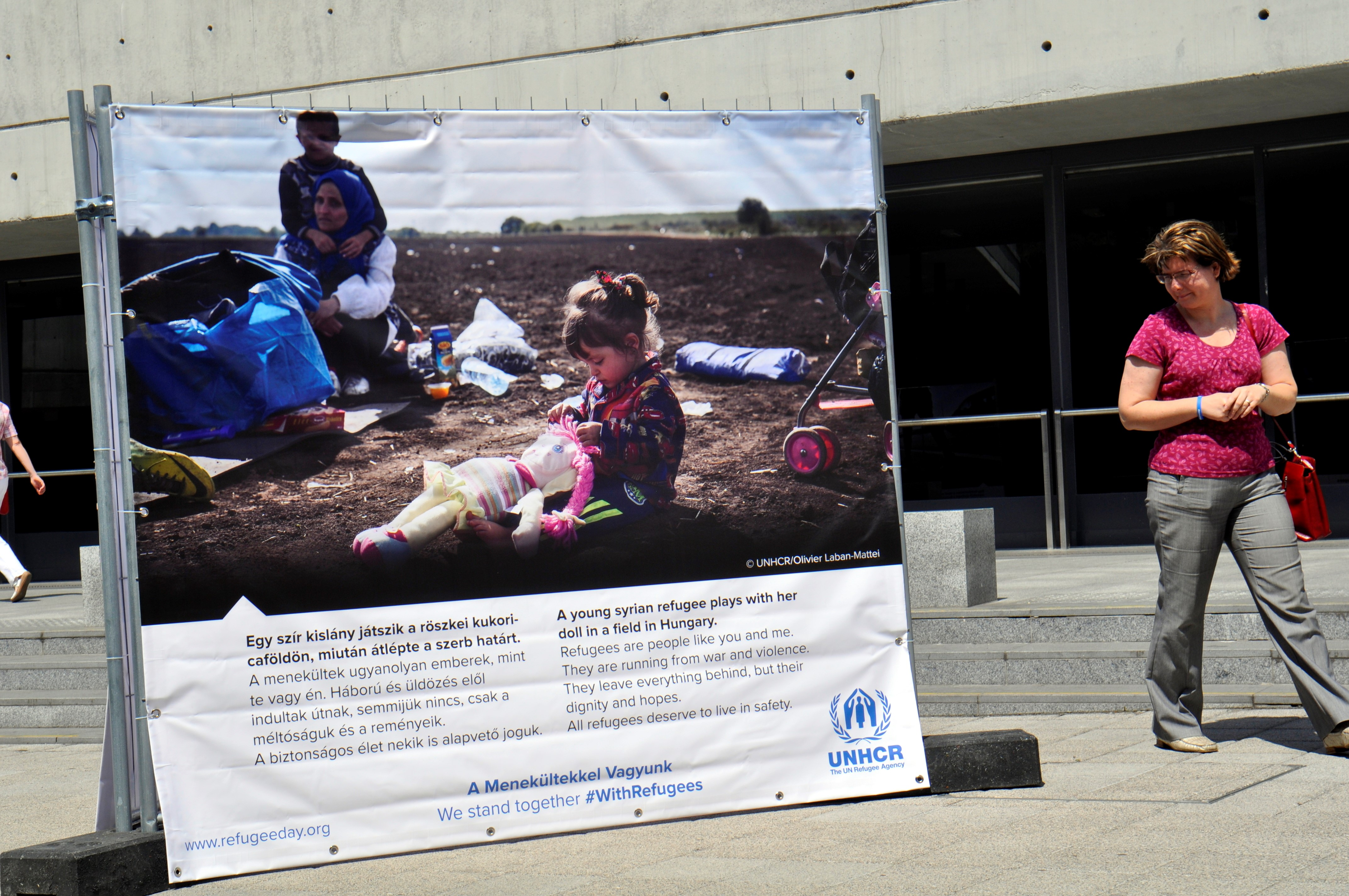 """Az ENSZ szívesen segít a magyar kormánynak, hogy """"tisztességes módon biztosítani tudja a menedékkérők belépését az országba"""""""