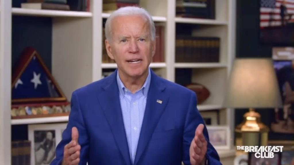 Joe Biden arról beszélt, hogy az nem lehet fekete, aki helyette Trumpra szavaz