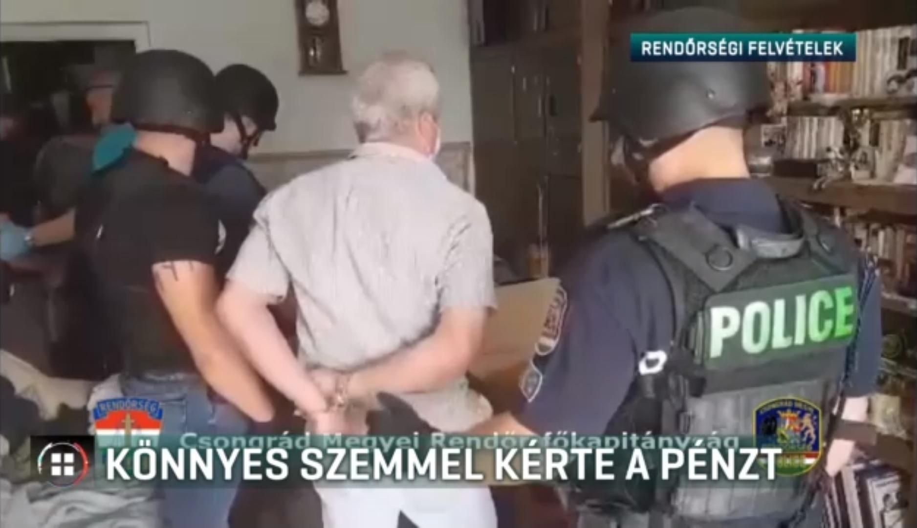 Könnyes szemmel könyörgött a pénzért a fegyveres rabló egy szegedi virágboltban, 5000 forintot kapott, és még el is fogták