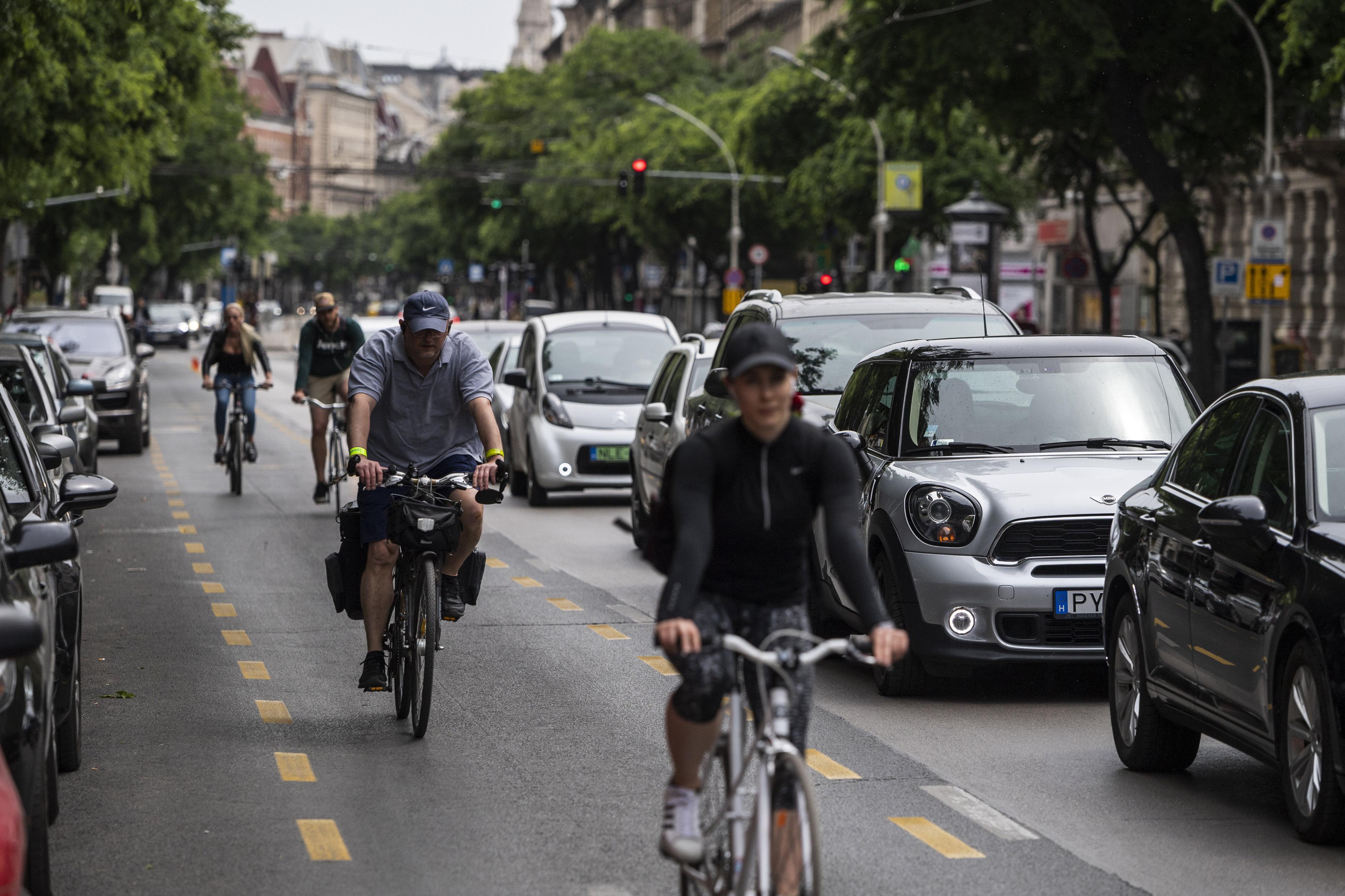 Decemberben 61 százalékkal többen bicikliztek Budapesten, mint egy évvel korábban