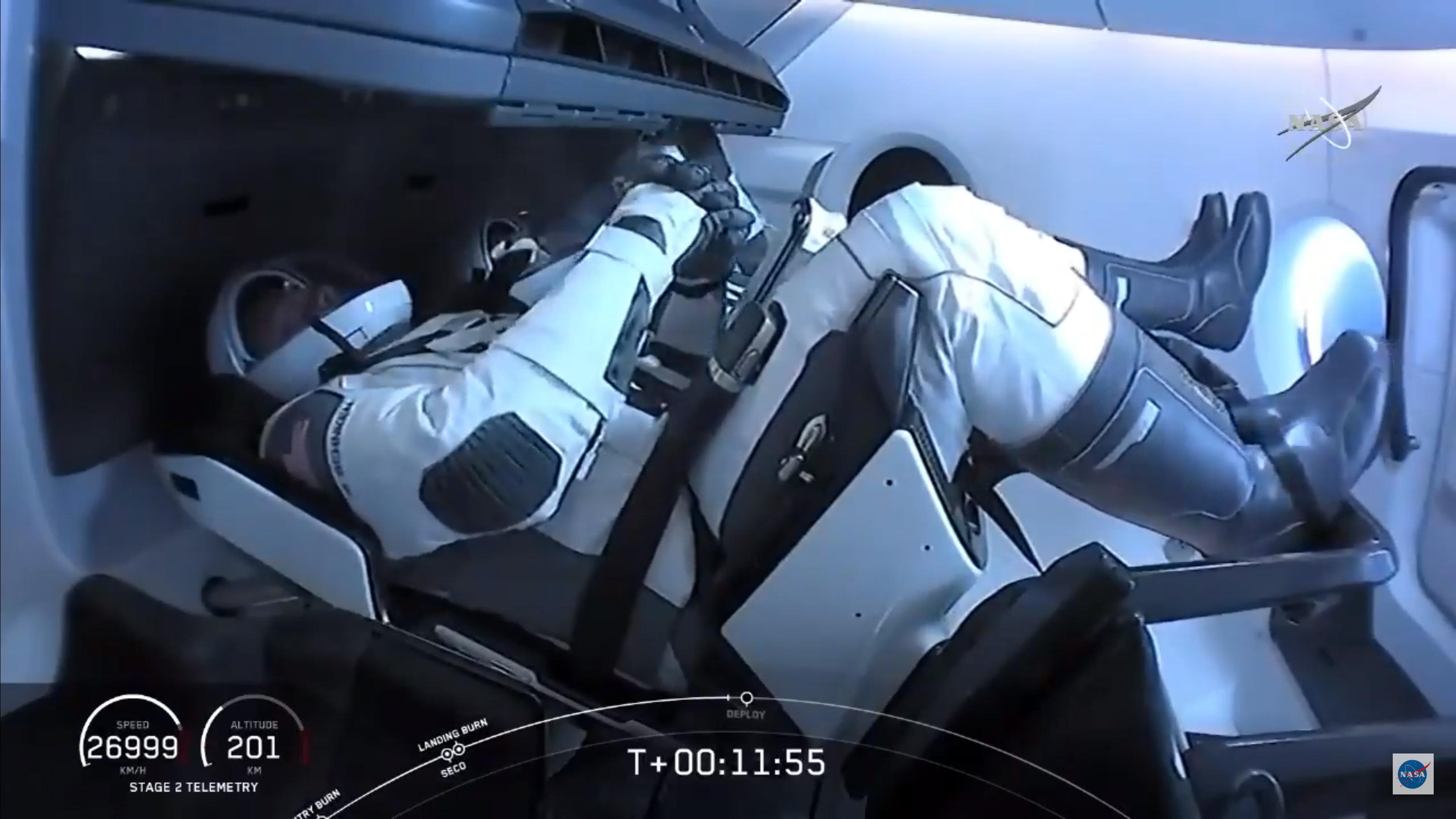 Rácsatlakozott a nemzetközi űrállomásra a Crew Dragon