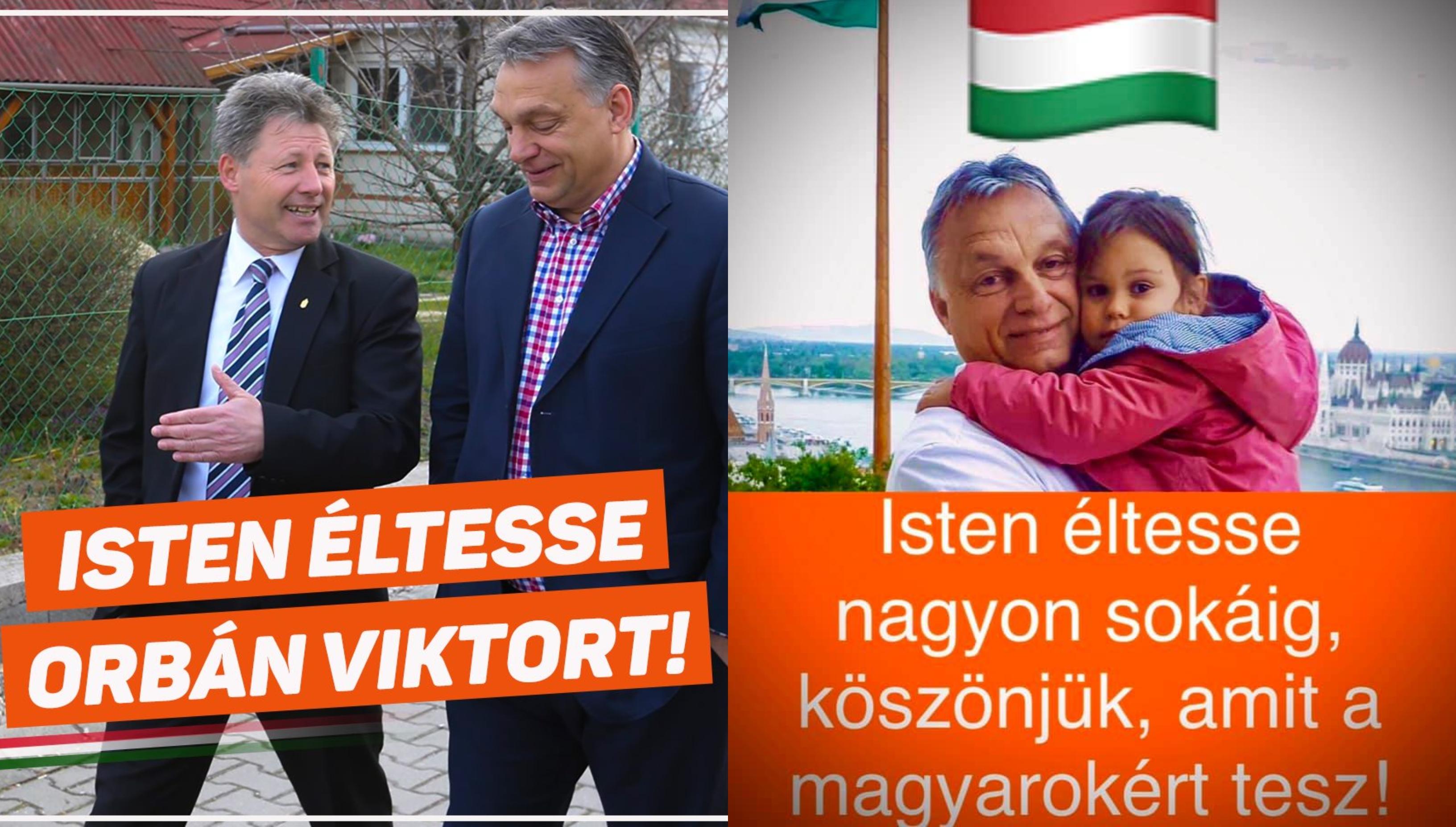 Gyönyörű szépen felköszöntötték miniszterelnök urat a fideszes képviselők