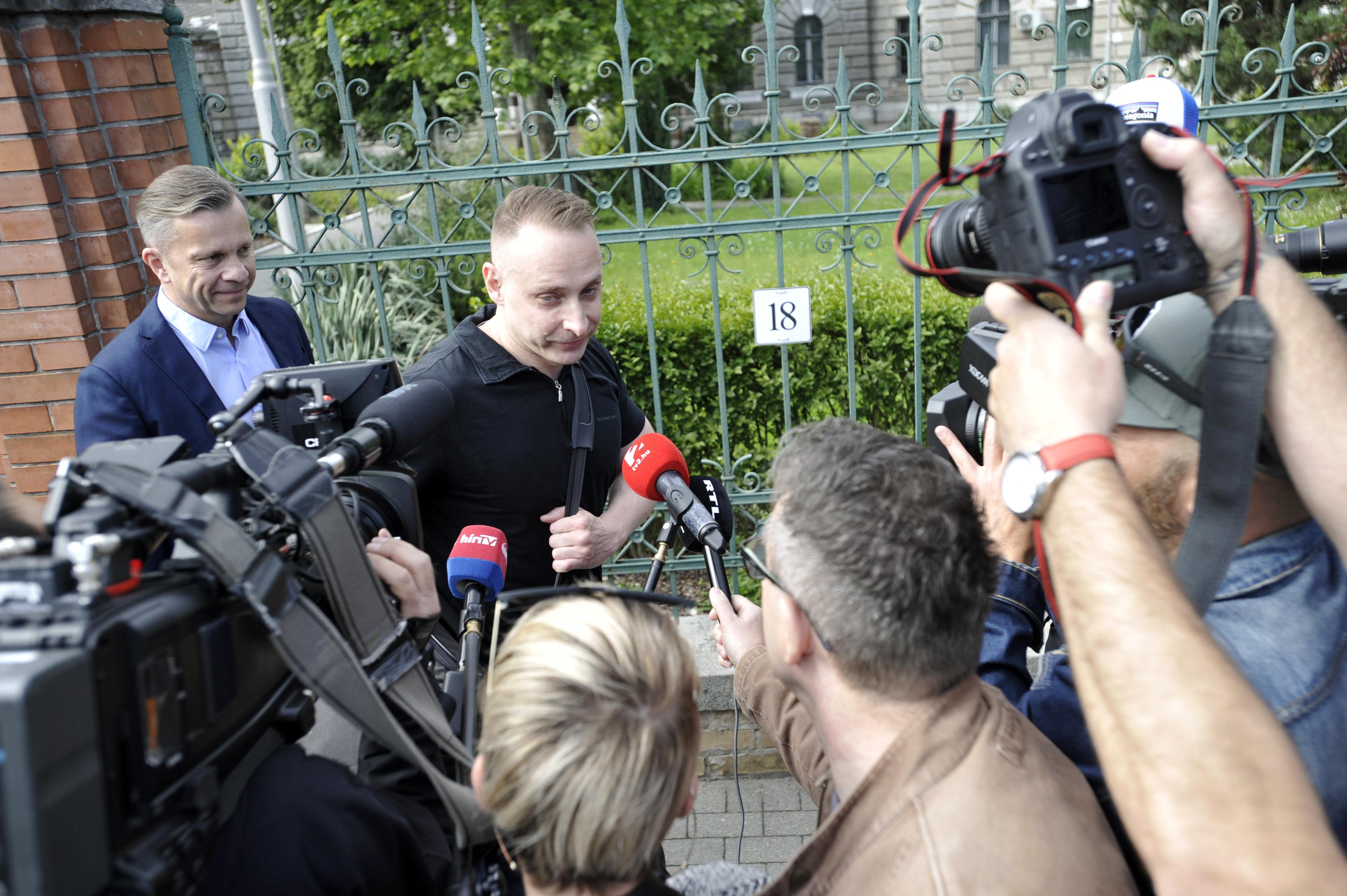 Kiszabadult a börtönből a móri bankrablásért tévesen elítélt Kaiser Ede