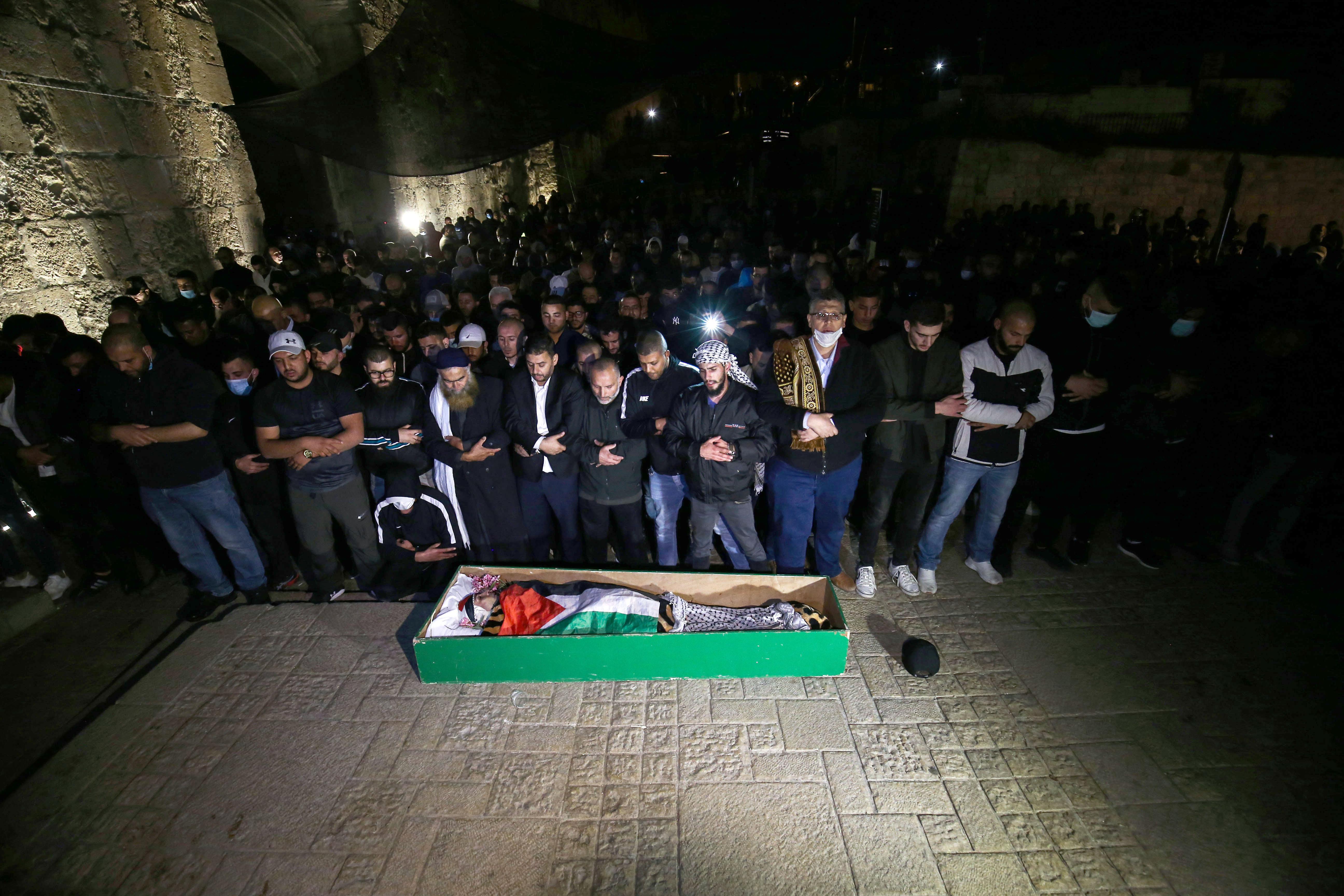 Netanjahu: Tragédia, hogy a rendőrök lelőtték az autista palesztin férfit