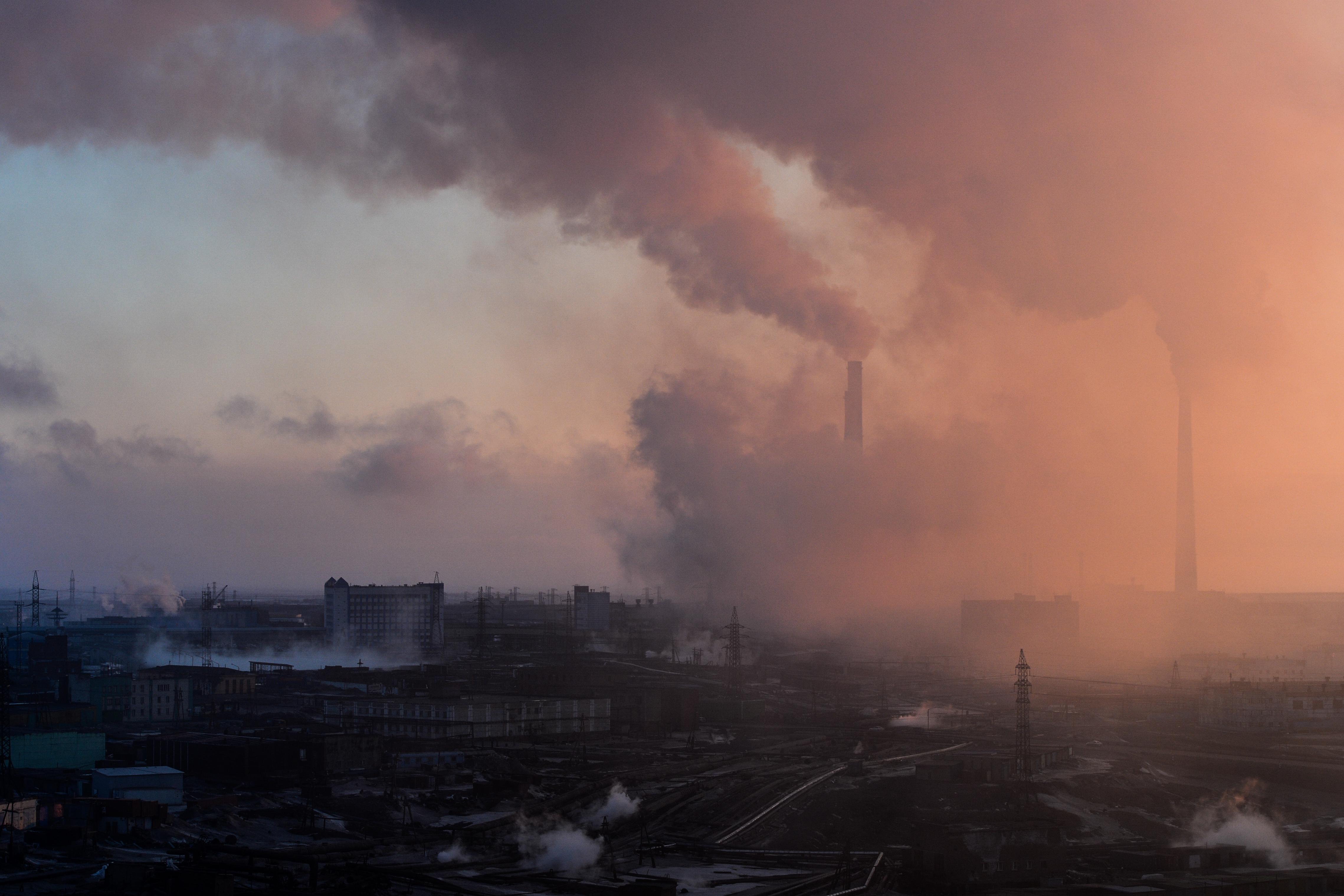 Kigyulladt egy ipariszemét-telep a sarkkörön túli Norilszknál