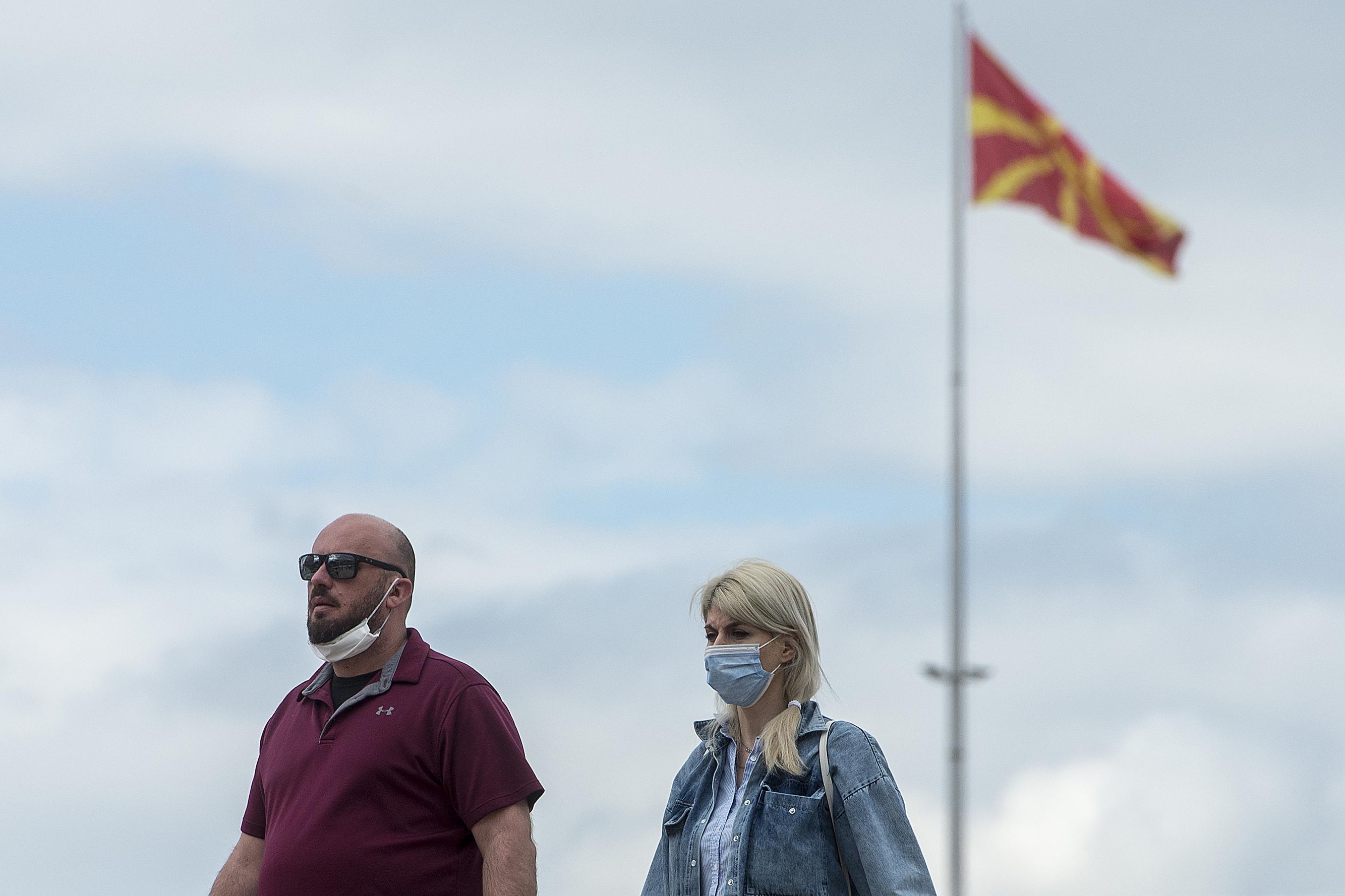 Olyan sok lett az új fertőzött, hogy Észak-Macedóniában újra bevezetik a kijárási tilalmat