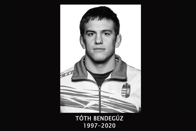 Edzés közben meghalt Tóth Bendegúz 22 éves válogatott birkózó