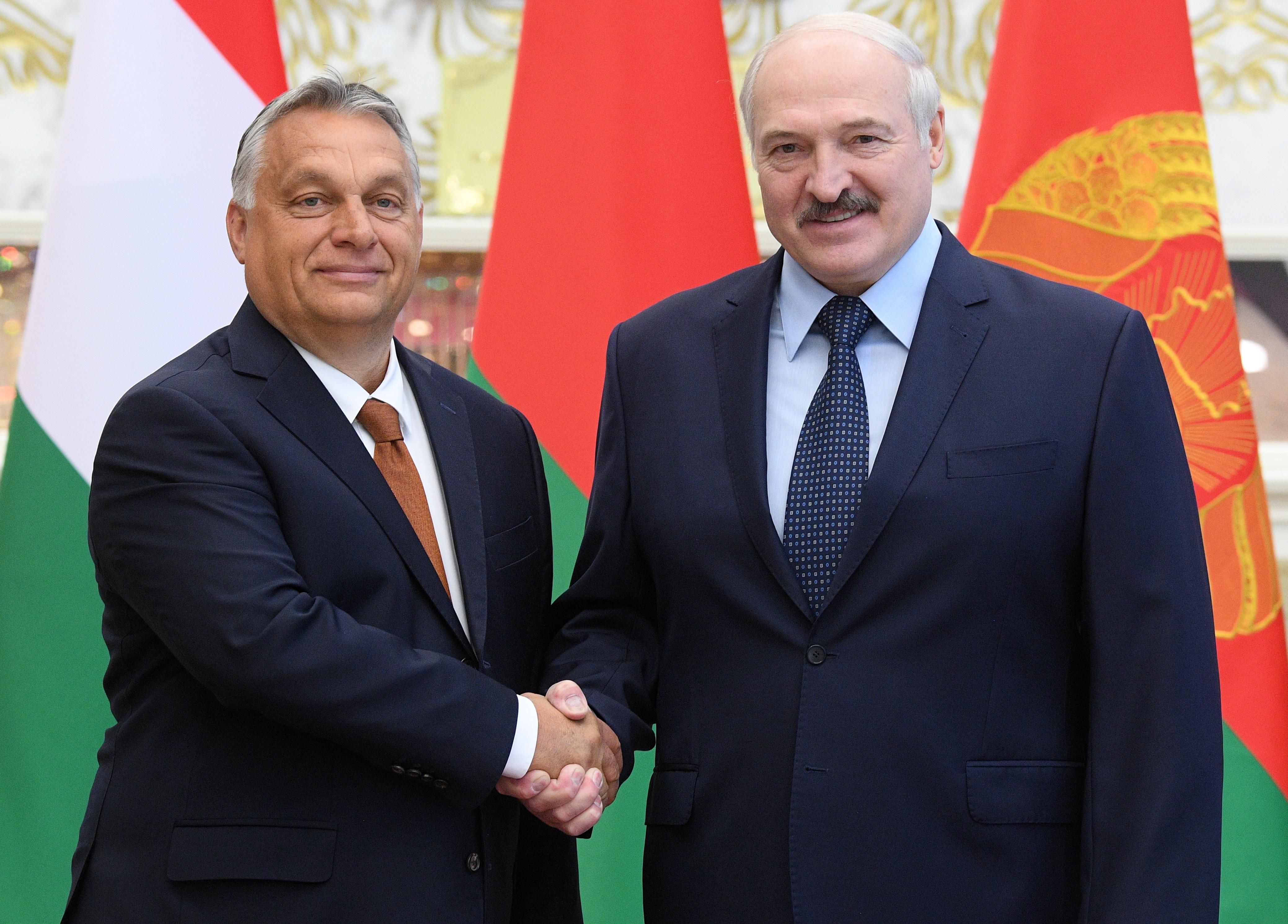 Orbán: Fehéroroszország ügyében a visegrádi országok között egyetértés van