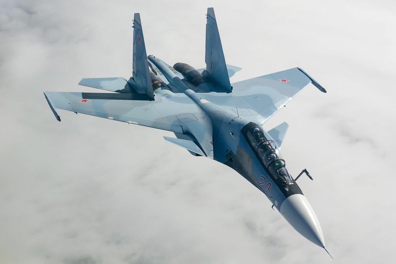 Egy orosz vadászgép véletlenül lelőhetett egy másik orosz vadászgépet