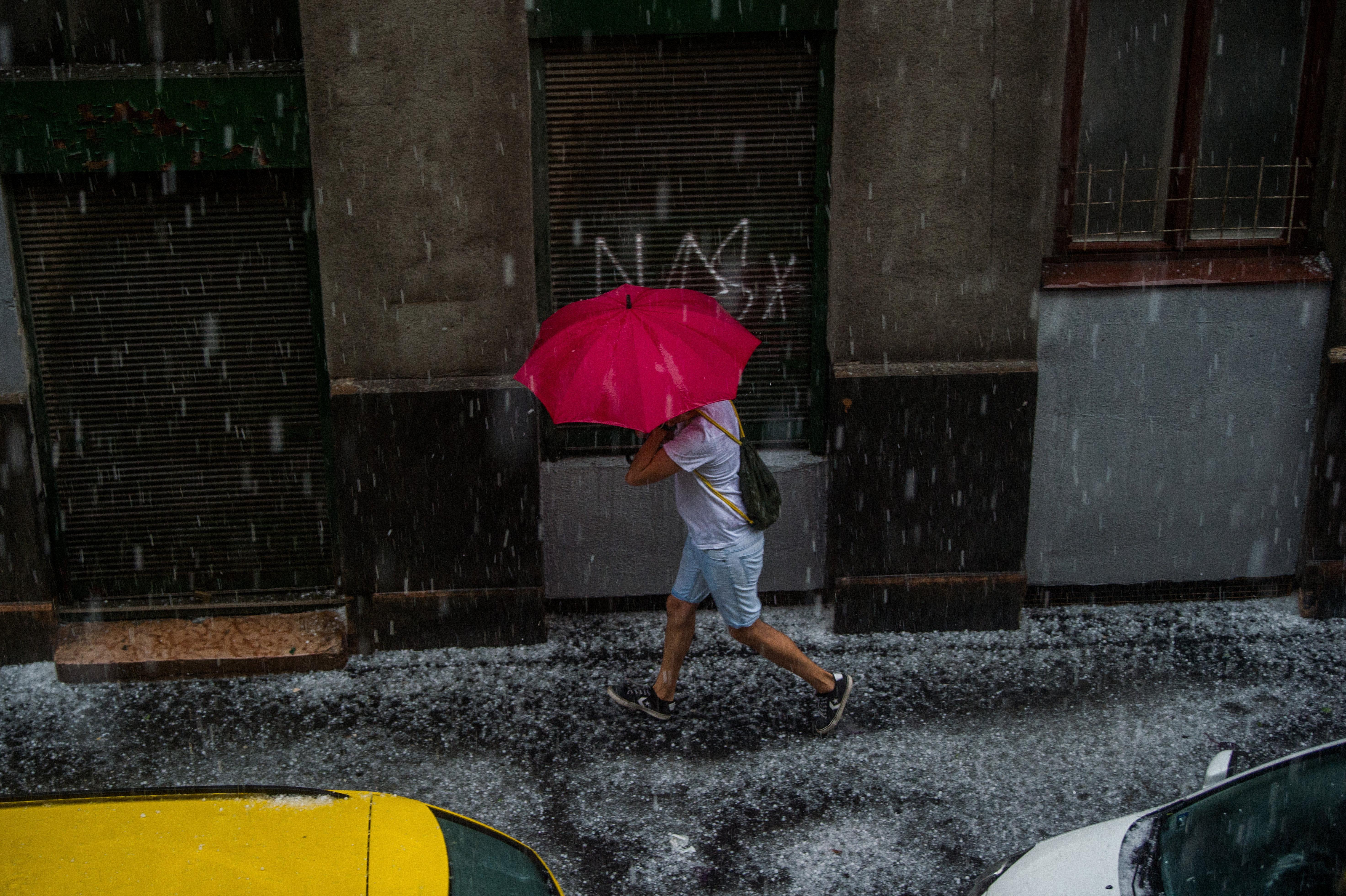 Nagy esők jönnek Délnyugat felől