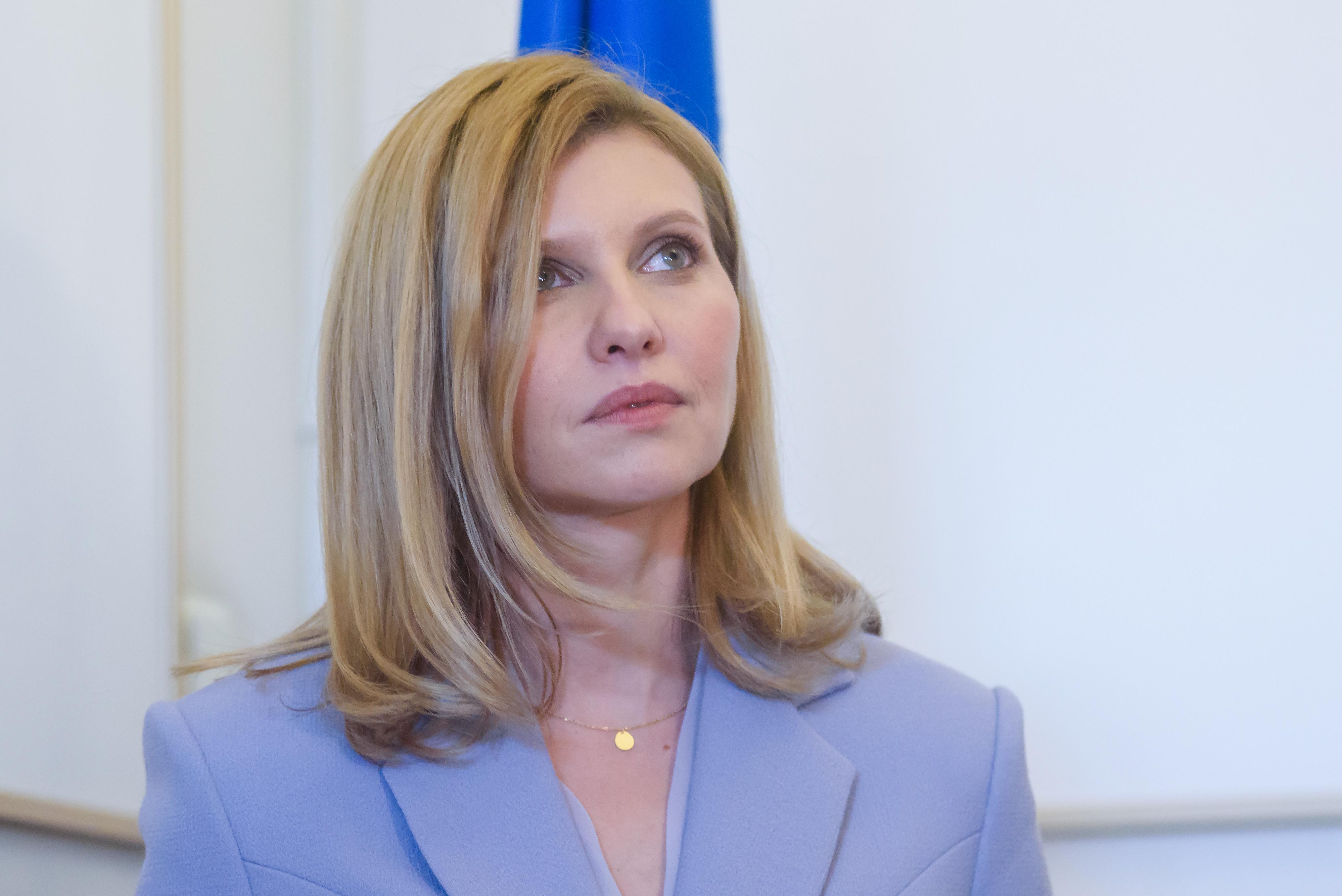 Koronavírussal került kórházba az ukrán elnök felesége