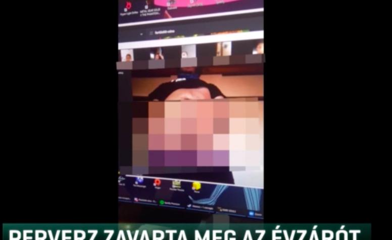 A Zoom közismert hibáját kihasználva egy maszturbáló perverz zavarta meg egy budapesti iskola online évzáróját