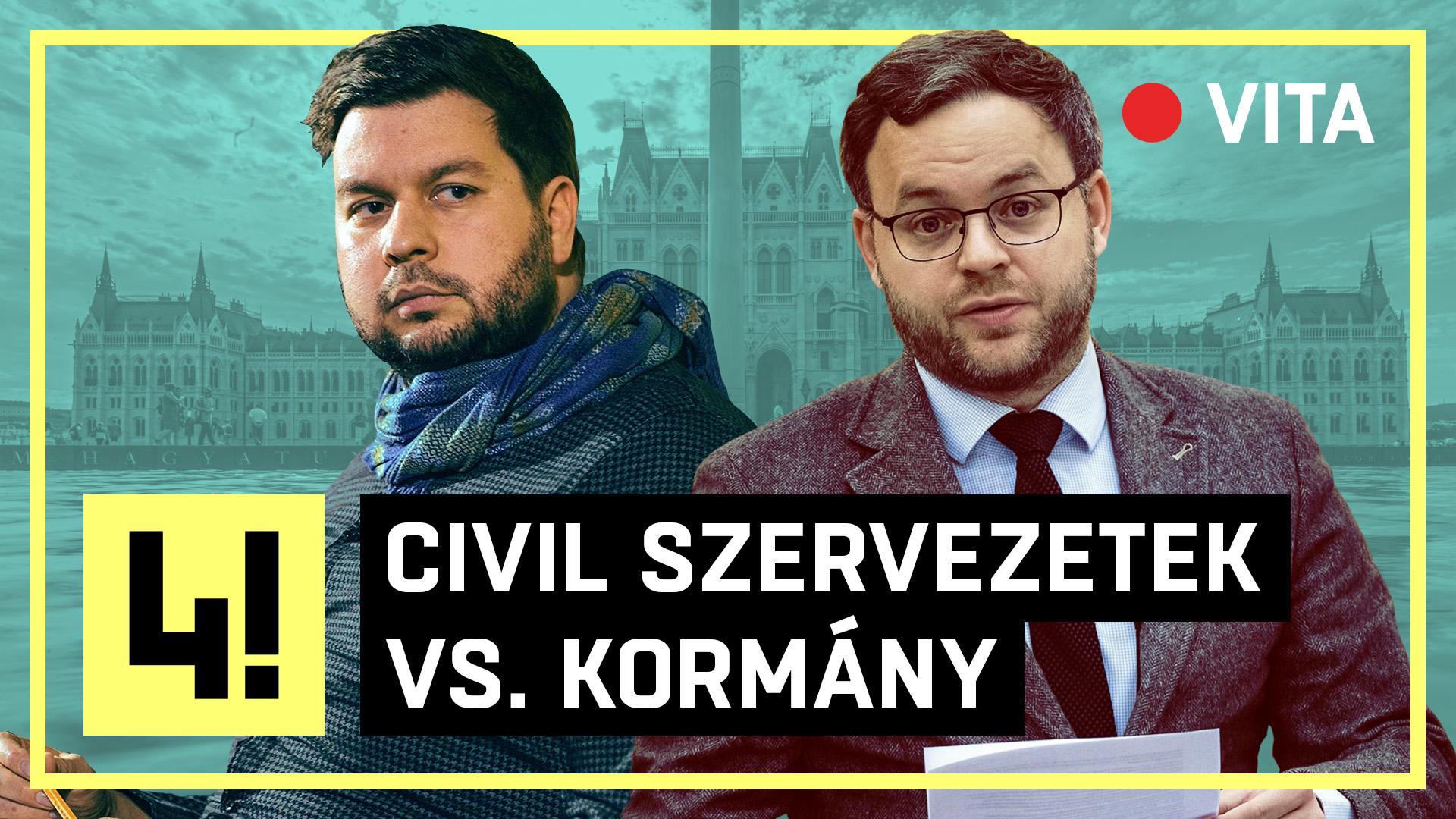 Vitázni hívtuk Orbán Balázs államtitkárt és Vig Dávidot, az Amnesty International magyarországi igazgatóját