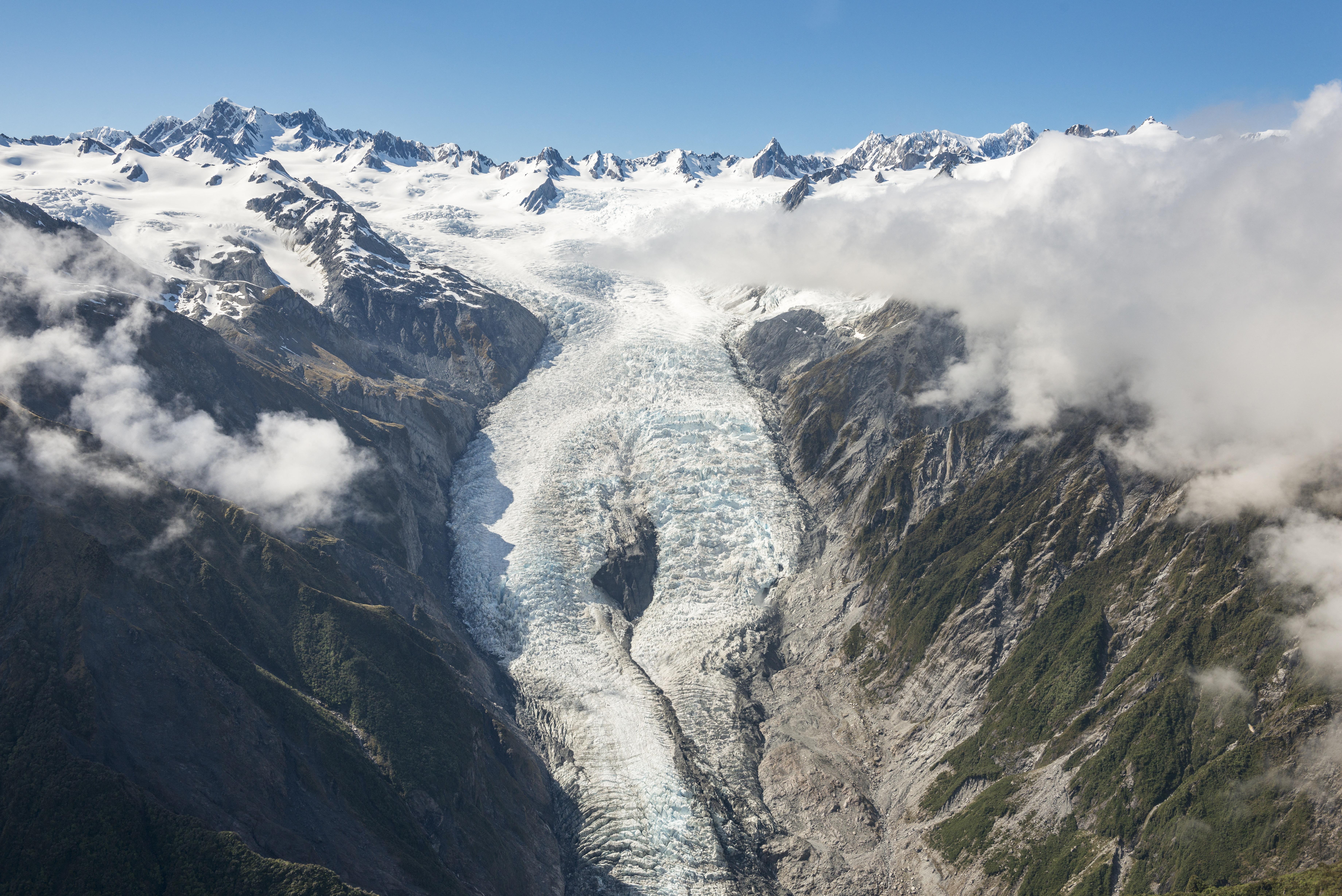 40 évnyi vízfogyasztásra elegendő jeget veszítettek tömegükből az új-zélandi gleccserek