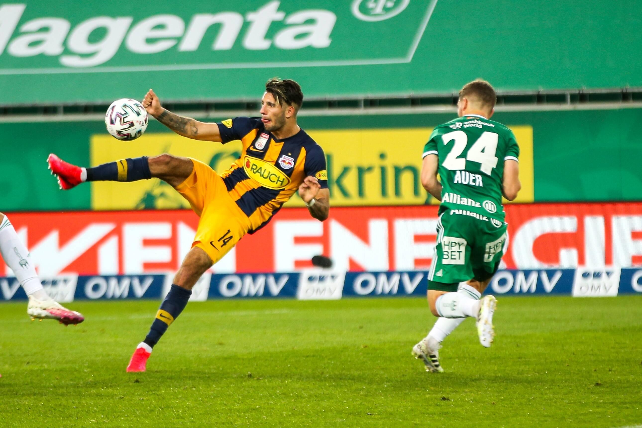 Szoboszlaiék tönkreverték a második Rapidot, a magyar játékos megint gólt lőtt, és kiosztott két gólpasszt is