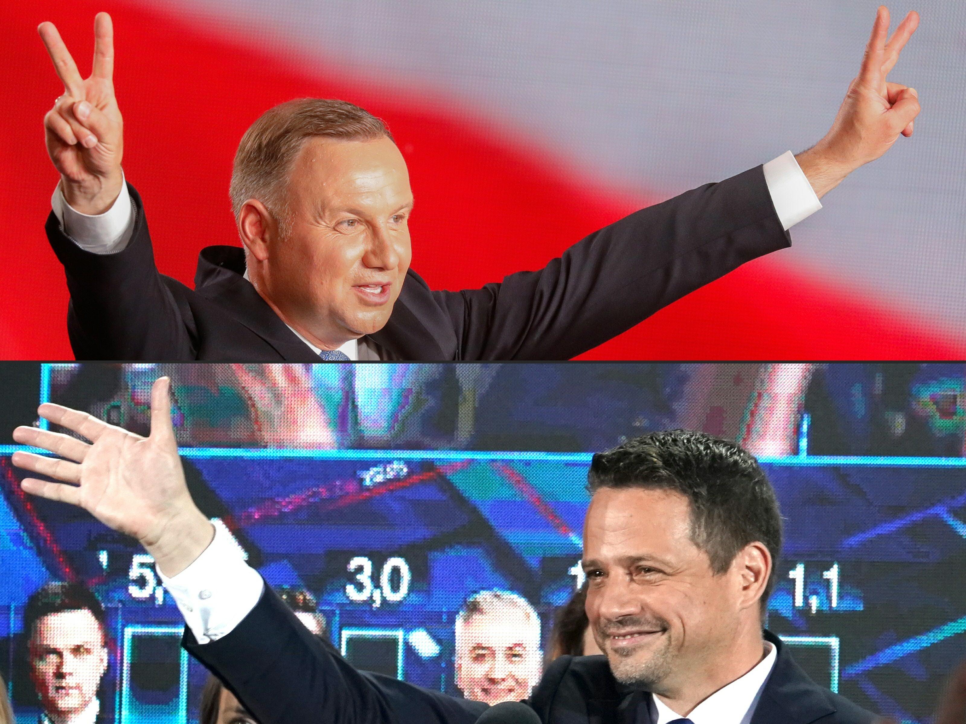 Duda nyert, de a varsói főpolgármesternek van esélye a lengyel elnökválasztás második fordulójában