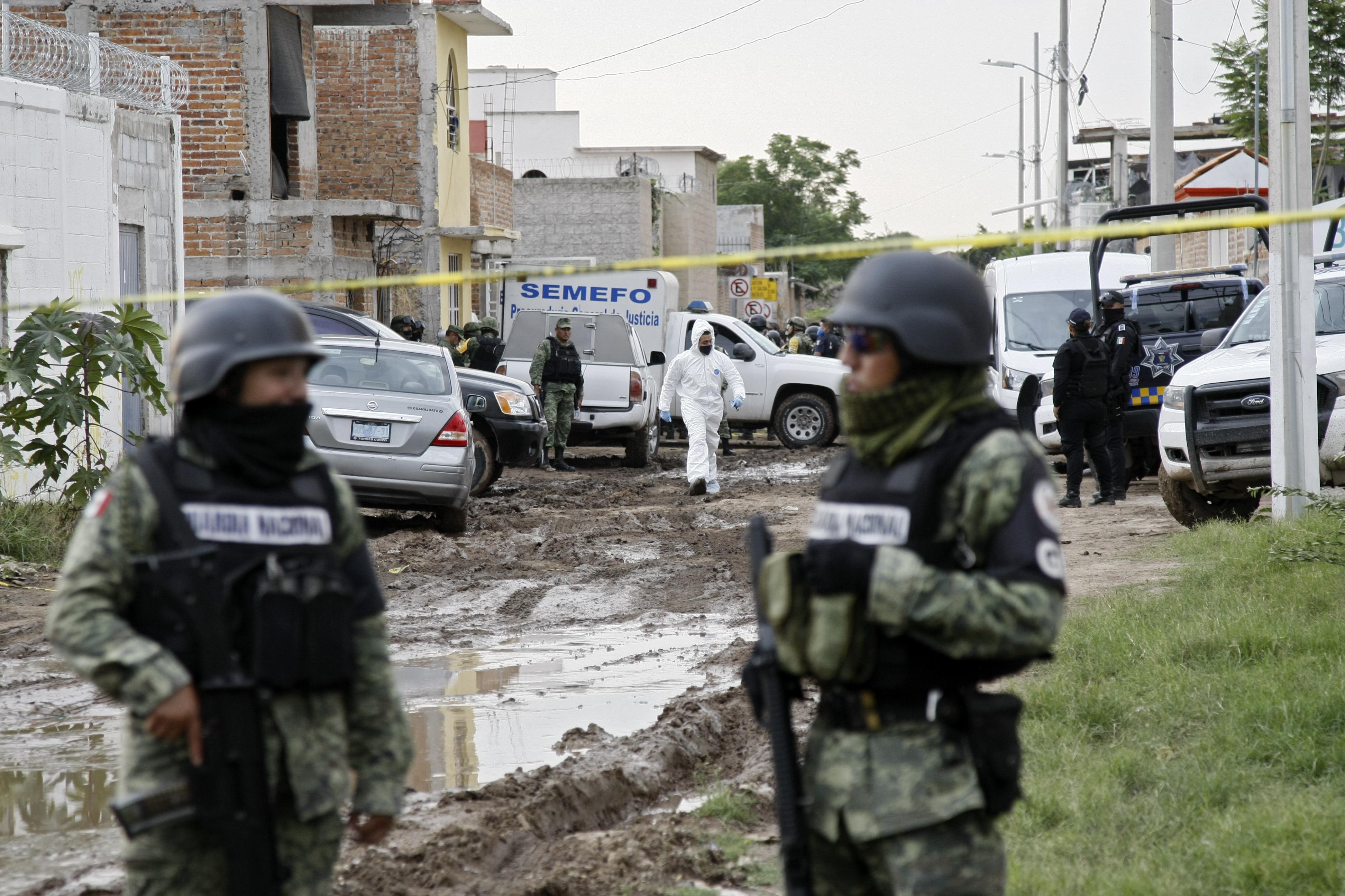 24 emberrel végeztek egy mexikói drogrehabon