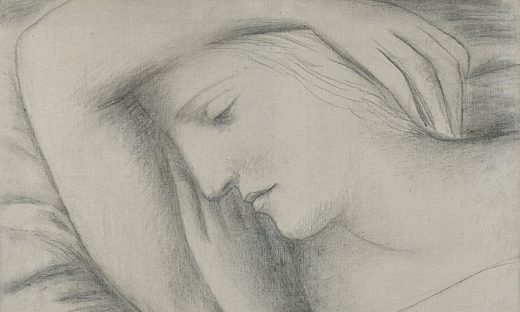 Árverésen lesz látható először Picasso rajza, amit szerelméről készített