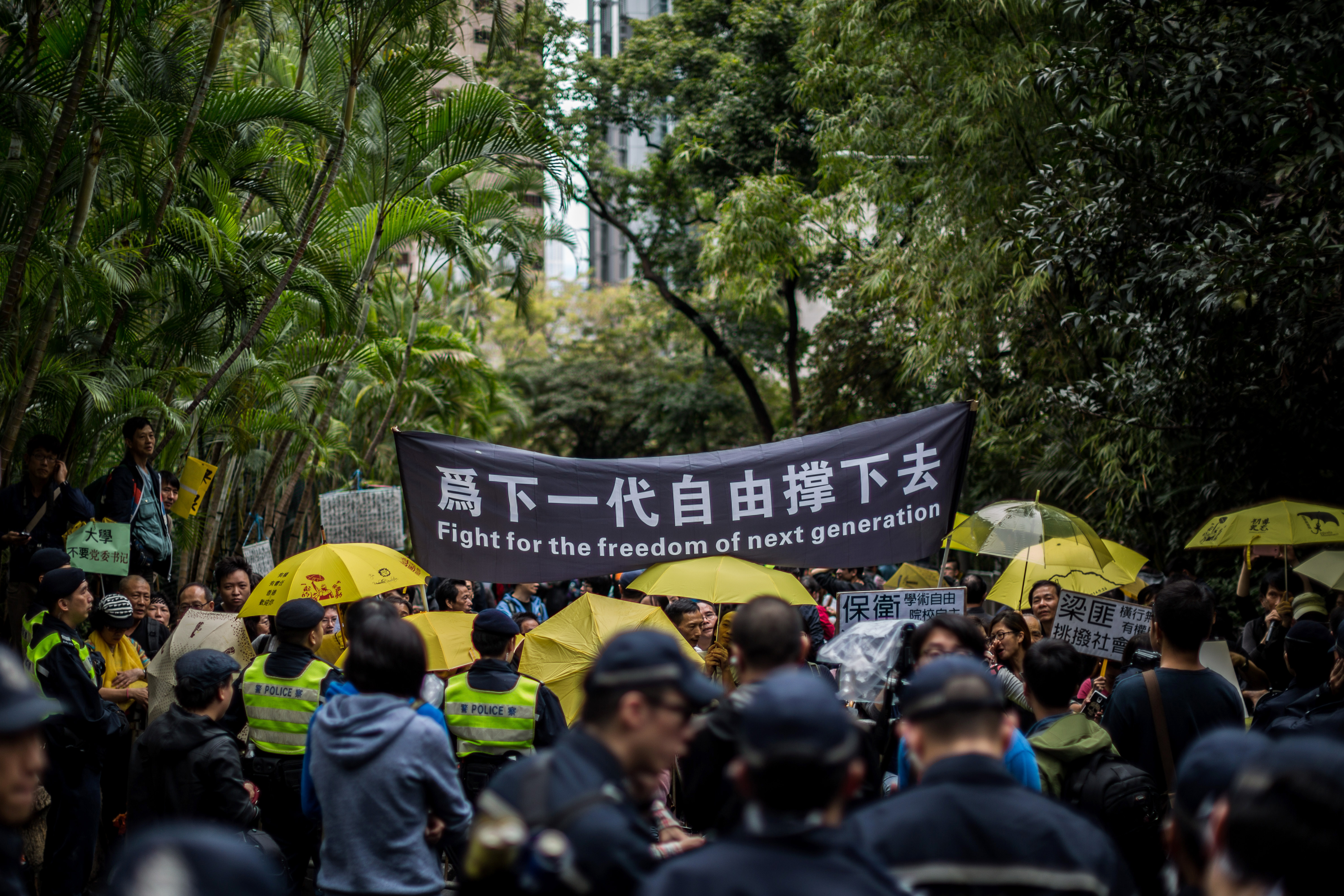 Facebook-posztok miatt tartóztattak le hongkongi diákokat az új nemzetbiztonsági törvény alapján