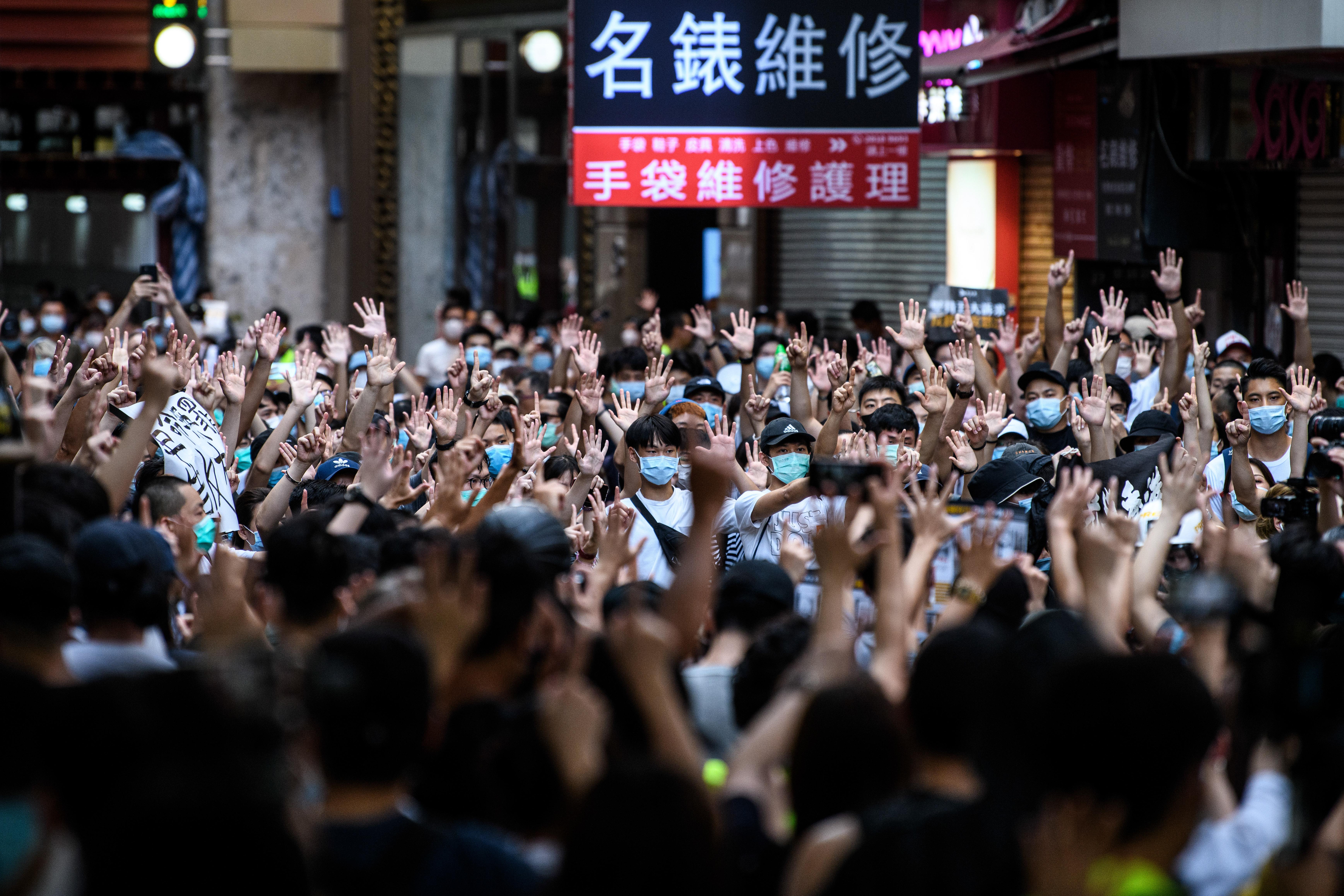 Az új nemzetbiztonsági törvény nem fogja megállítani a hongkongi tüntetőket