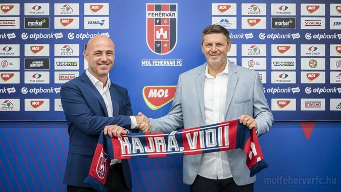Pocsékul sikerült a konspiráció, de tényleg Márton Gábort nevezte ki vezetőedzőnek a Fehérvár