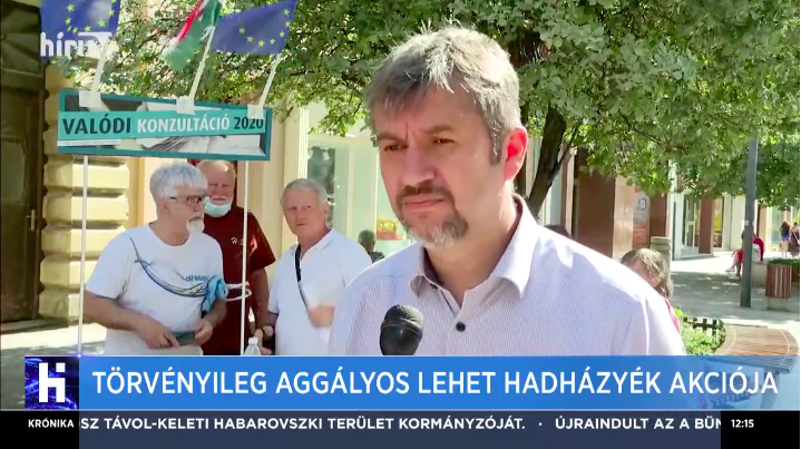 Nyilvánosságra hozta a 24.hu újságírójának lakcímét a HírTV, hogy az ellenzék kérdőívgyűjtő akciójához kösse valahogy a lapot