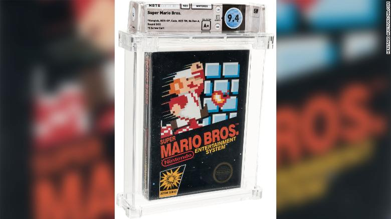 Majdnem 36 millió forintot fizetett valaki egy Super Mario-videójátékért